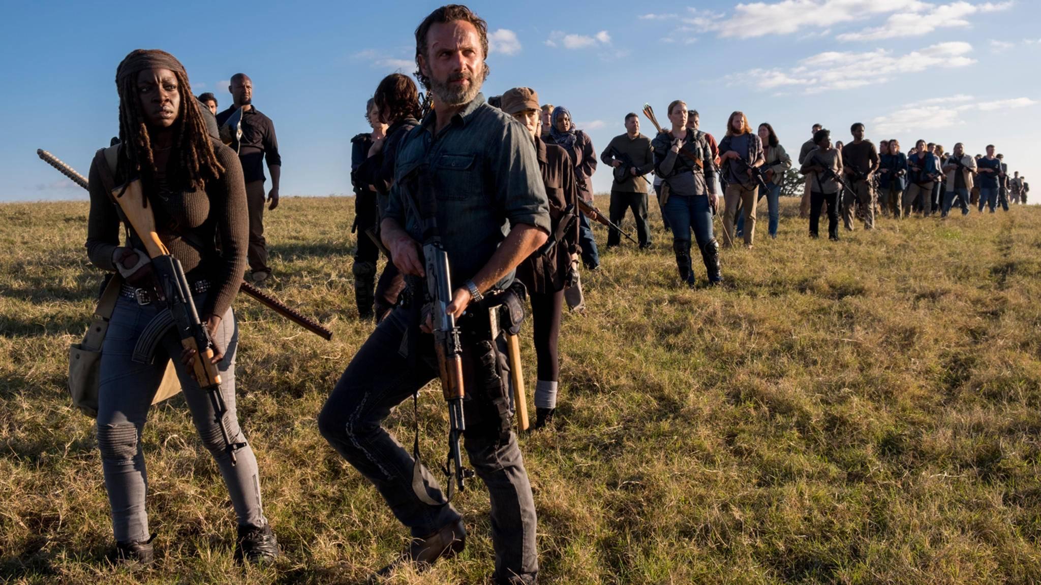 """Wer übernimmt bei """"The Walking Dead"""" die Führung?"""