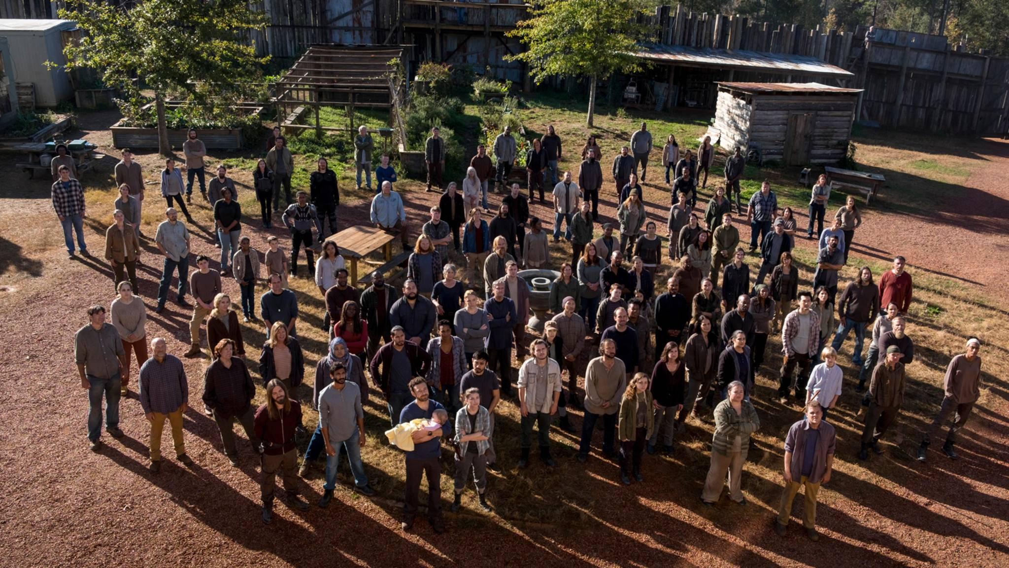 """Die """"The Walking Dead""""-Familie erhält in Staffel 9 Besuch von zwei weiteren Ehemaligen."""
