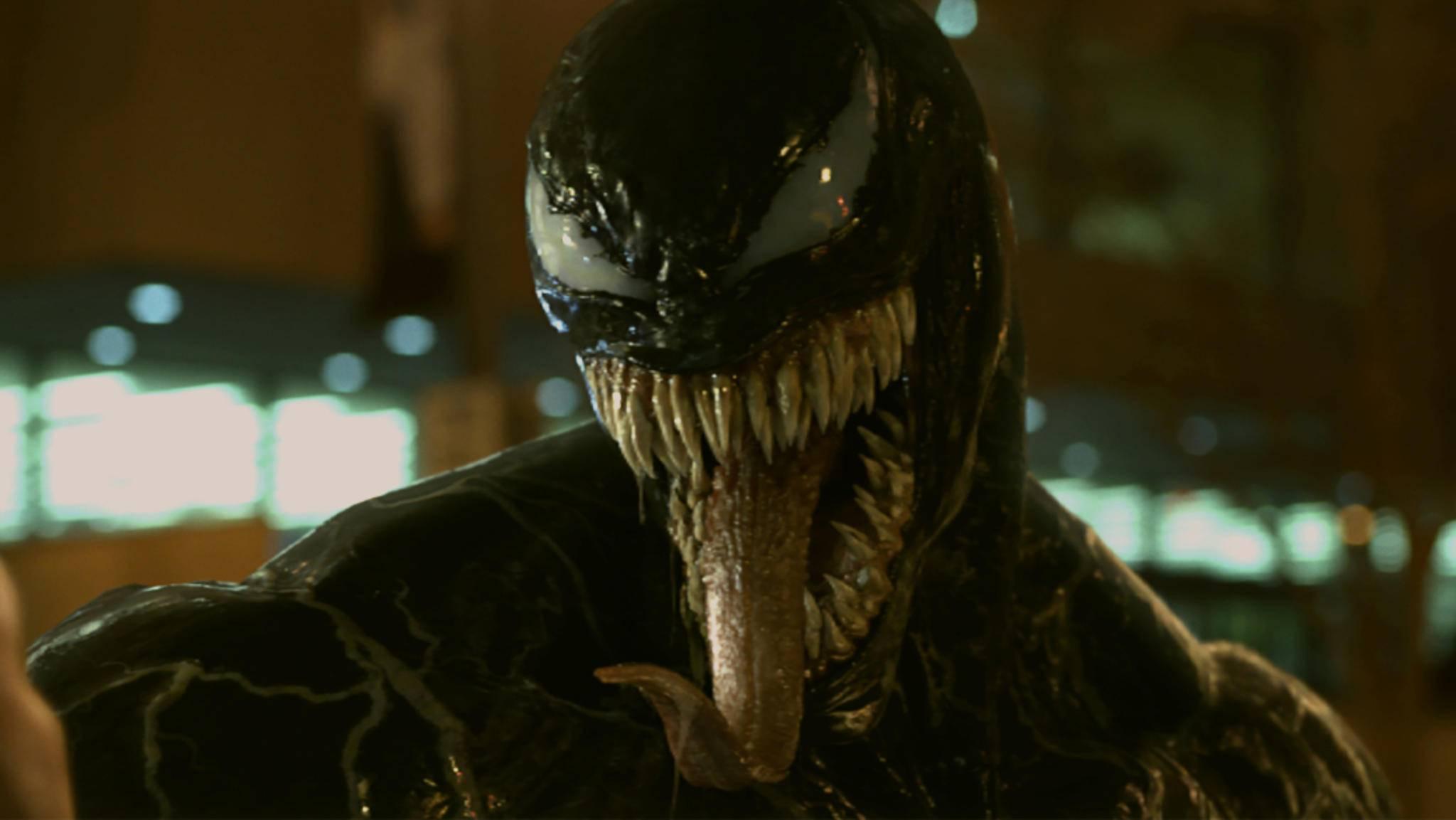 """Besuch aus dem All: """"Venom"""" macht ab sofort die deutschen Kinos unsicher."""