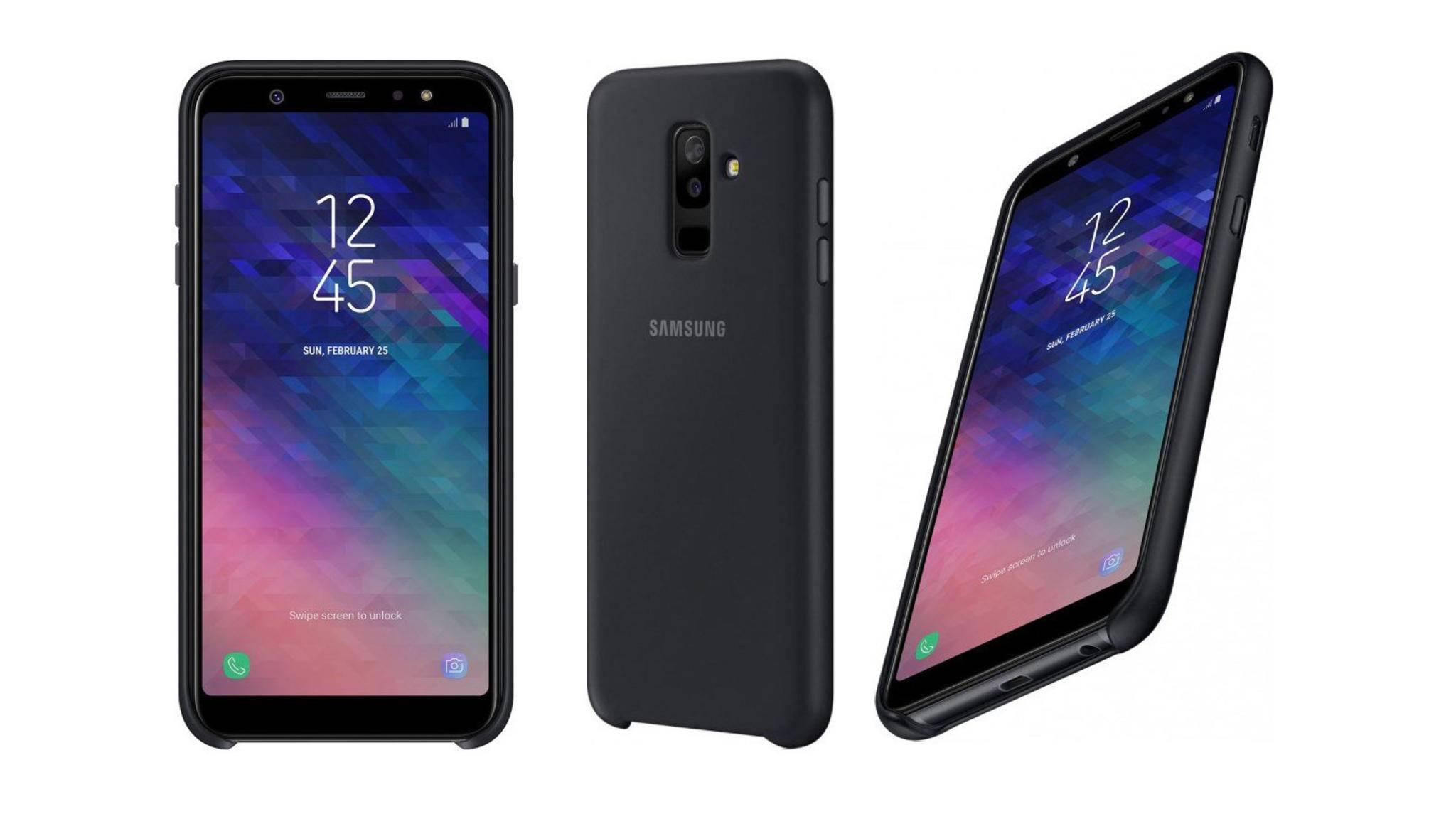 Das Galaxy A6 Plus soll mit einer Dual-Kamera ausgestattet sein.