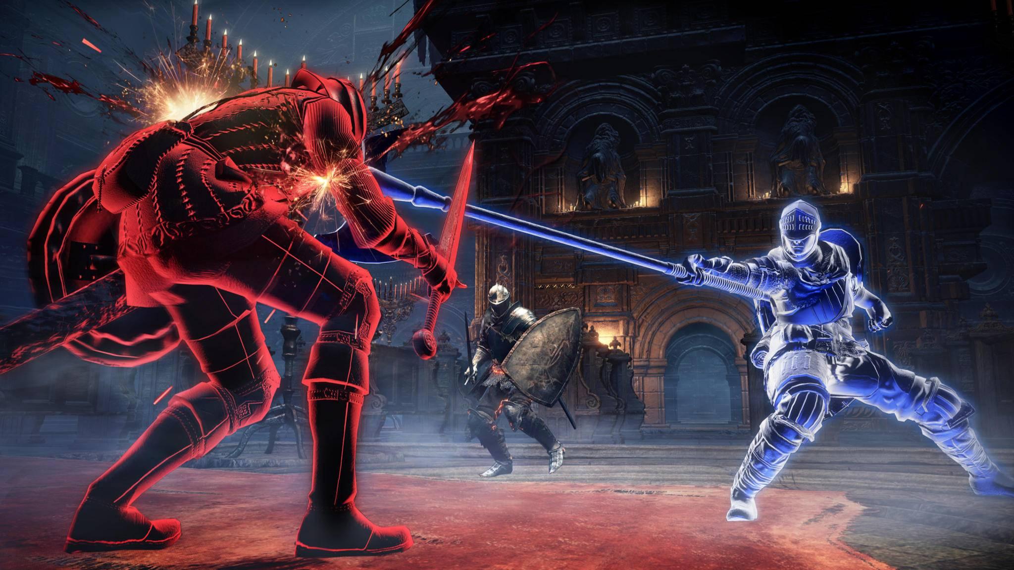 """Noch kein Battle Royale, aber immerhin: Auch in den """"Dark Souls""""-Spielen geht's um alles."""
