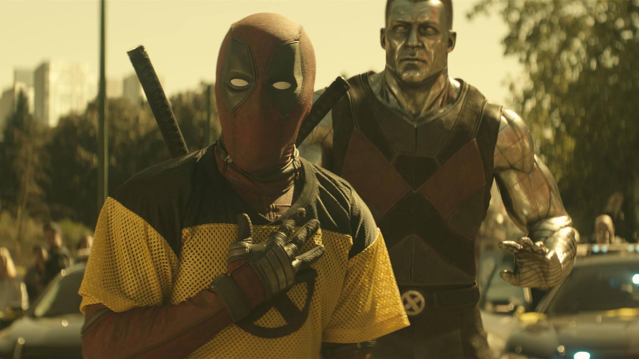 Herzergreifend: Deadpool macht in seiner PG13-Version auf Märchenonkel.