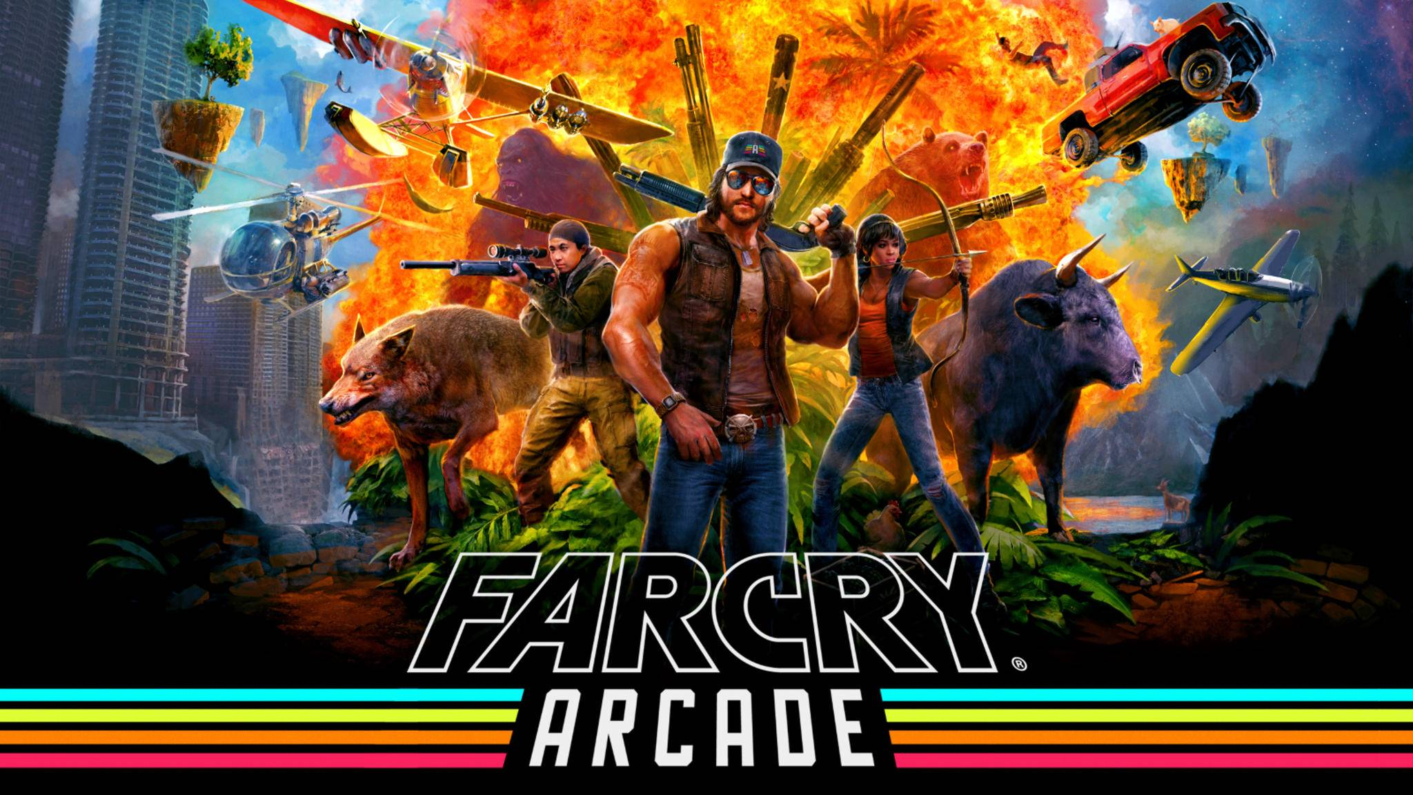 """Far Cry Arcade"" ist ein umfangreicher Level-Editor in ""Far Cry 5""."