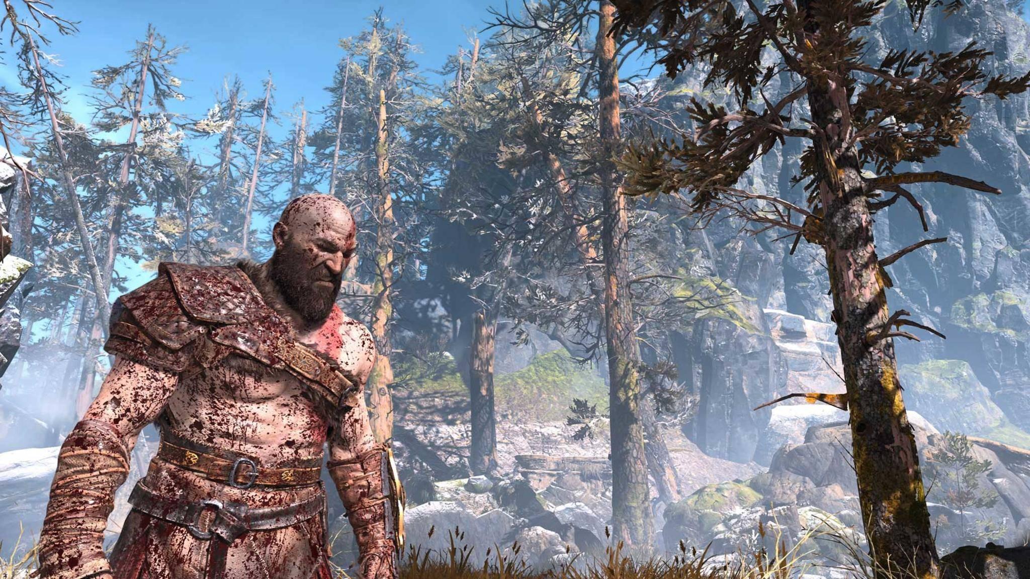 Was Geralt von Riva kann, kann Kratos schon lange – zumindest wenn es nach Spieleentwickler Cory Barlog geht.
