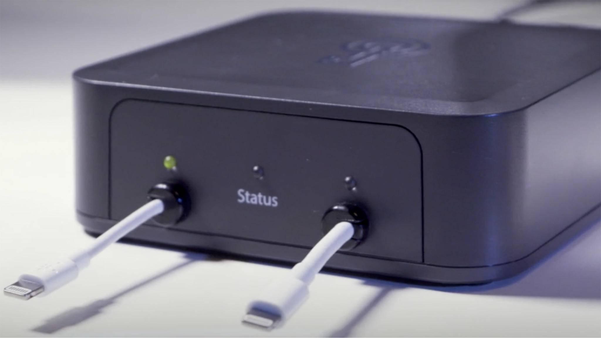 Mit der Box GrayKey kann ein iPhone via Brute-Force-Attacke gehackt werden.