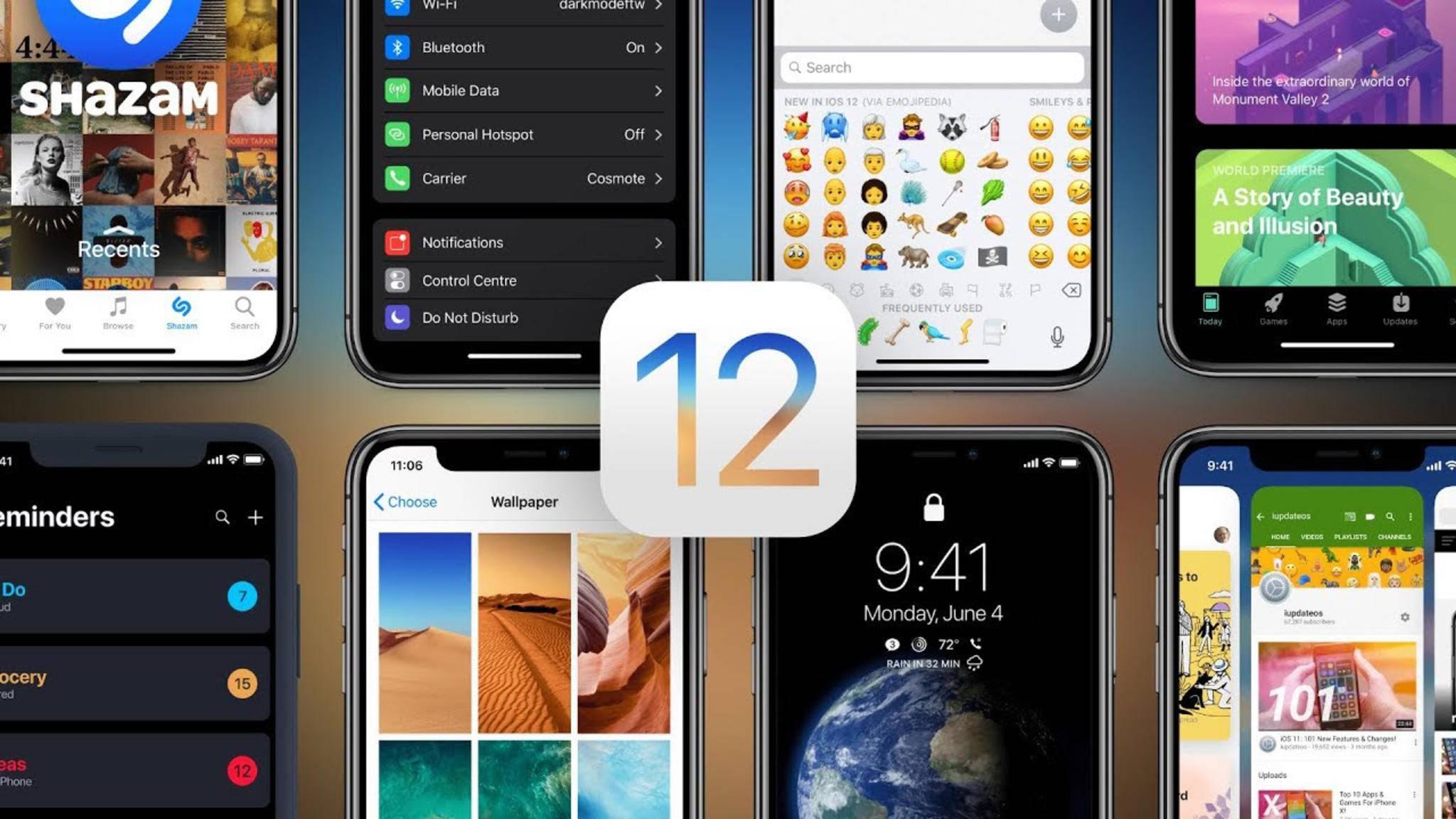 Das Motto von iOS 12 könnte sein: Weniger Features, weniger Bugs.