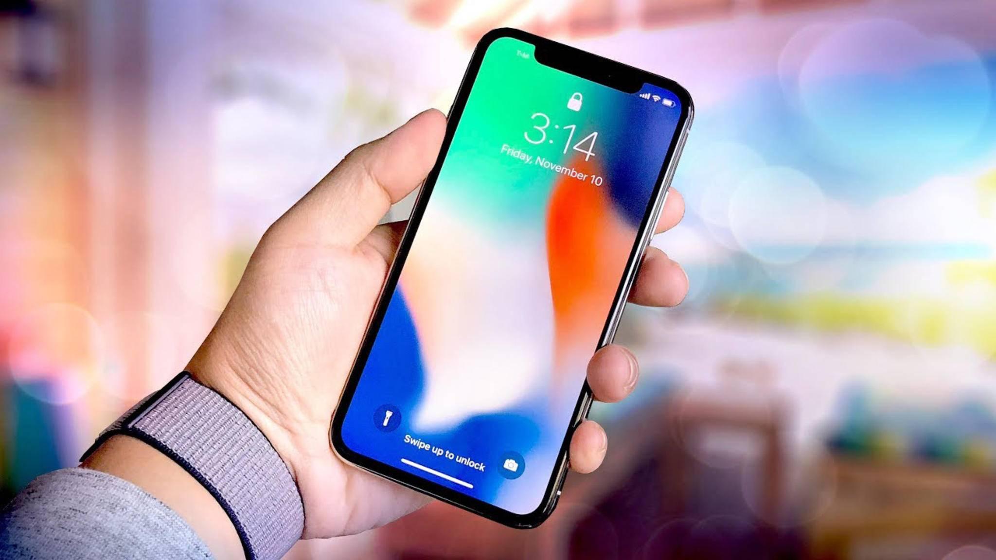 Der Bildschirm des iPhones dreht sich automatisch je nach Ausrichtung. Doch was tun bei Problemen?