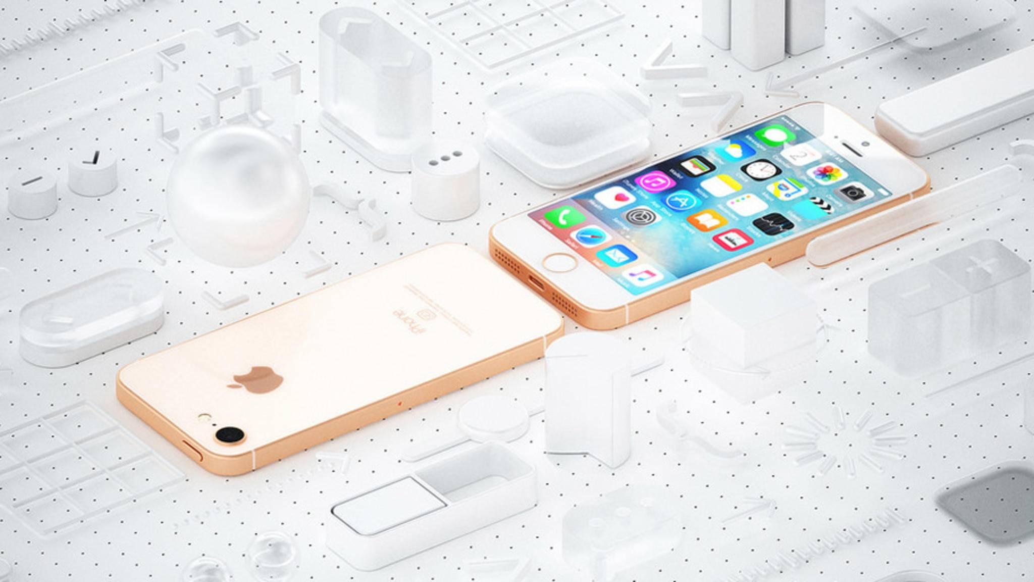 So könnte das iPhone SE 2 im klassischen Formfaktor aussehen.