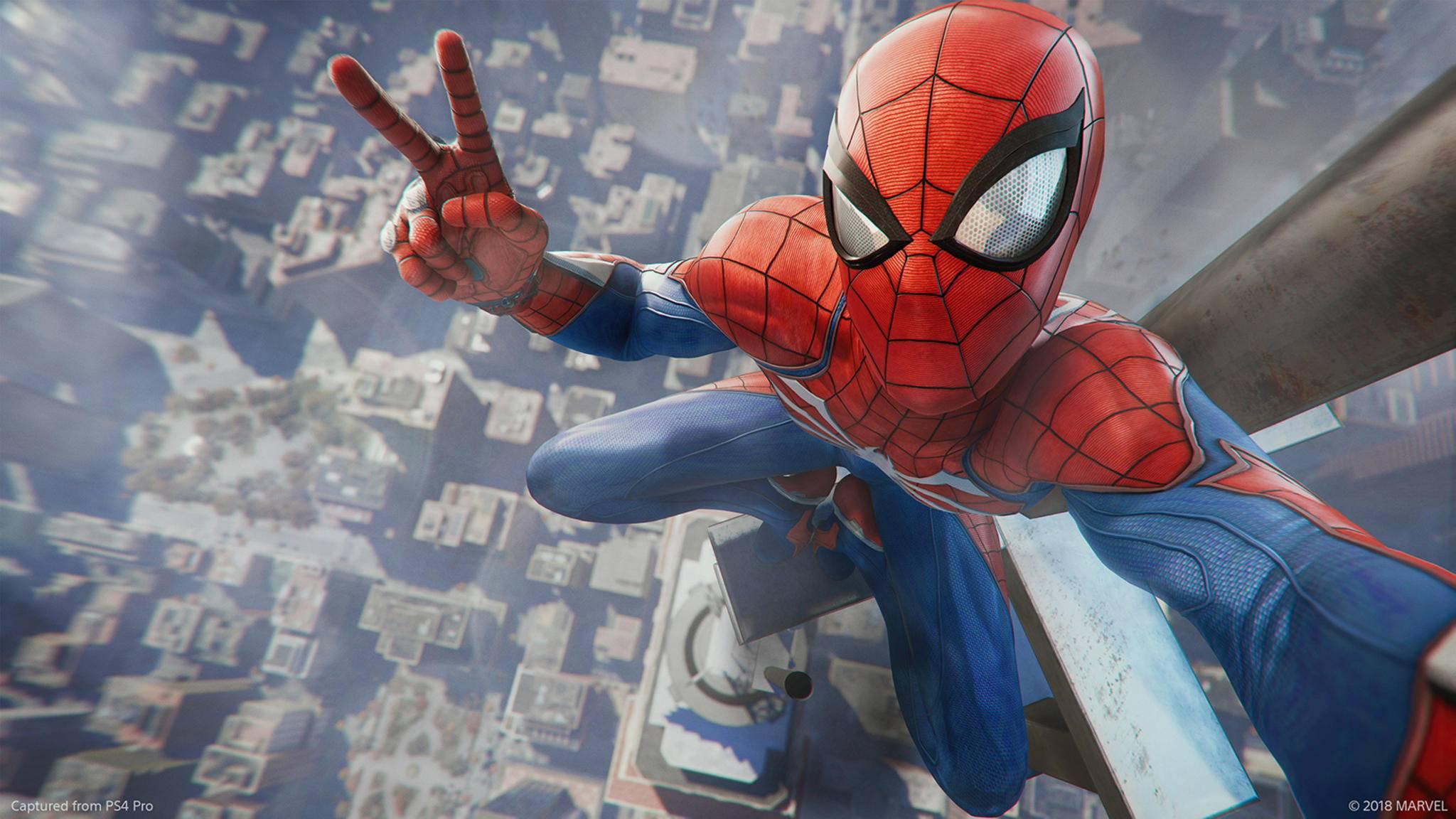 """""""Marvel's Spider-Man"""" erscheint exklusiv für die PS4."""