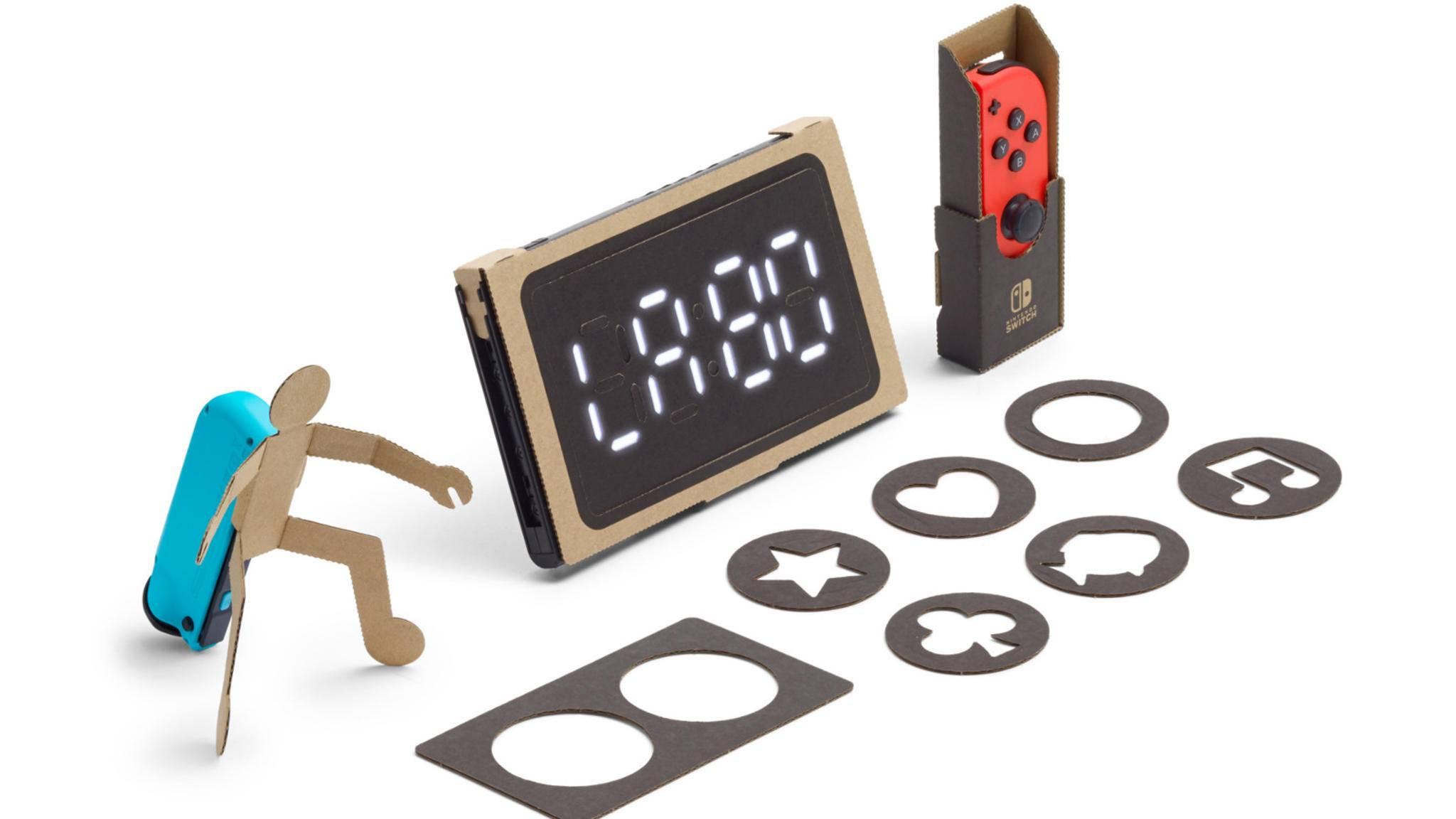 Nintendo Labo lädt zum Basteln und Ausprobieren ein.