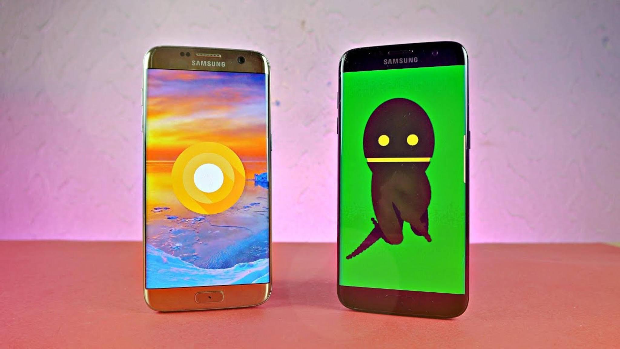 Erst Mitte Mai soll das Galaxy S7 Android 8.0 Oreo erhalten.