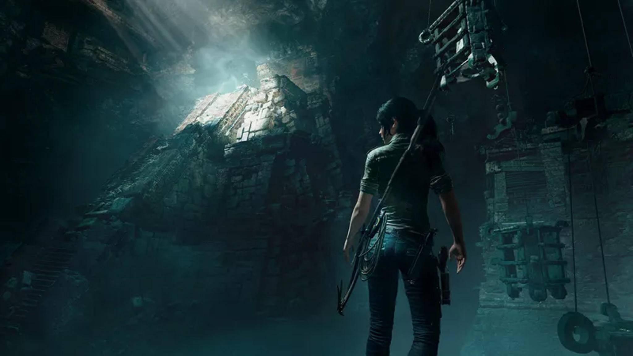 """2018 erscheint mit """"Shadow of the Tomb Raider"""" ein neues Game um Heldin Lara Croft."""