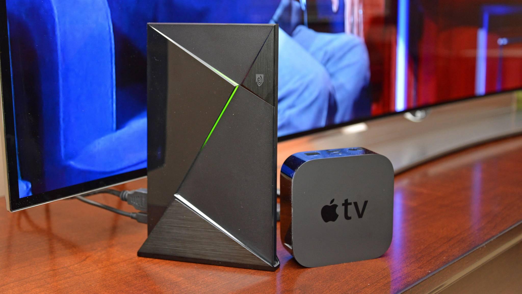 Nvidia Shield TV und Apple TV sind nur zwei Alternativen zum Google Chromecast.