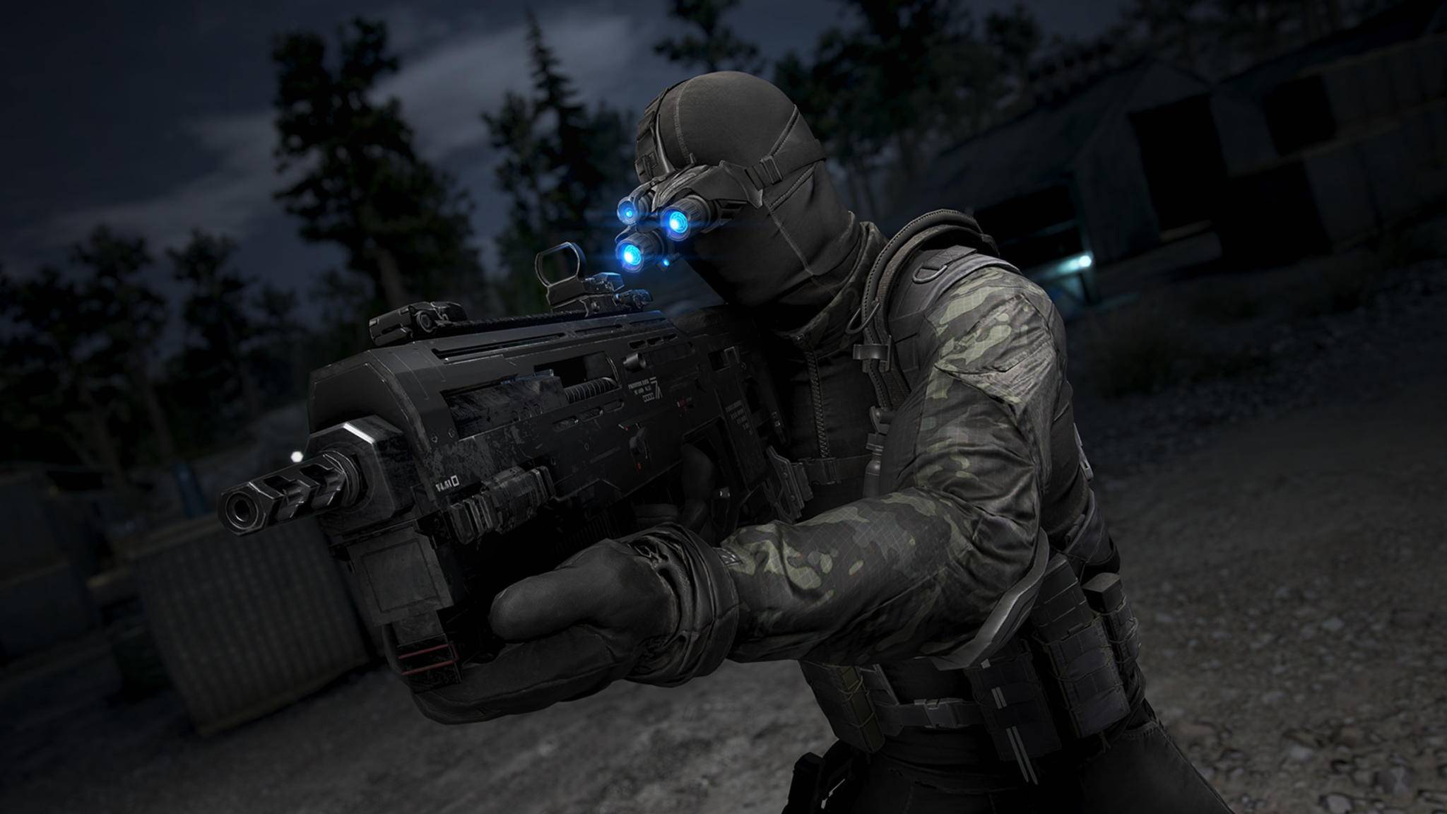 """Splinter Cell"" in ""Ghost Recon Wildlands"""