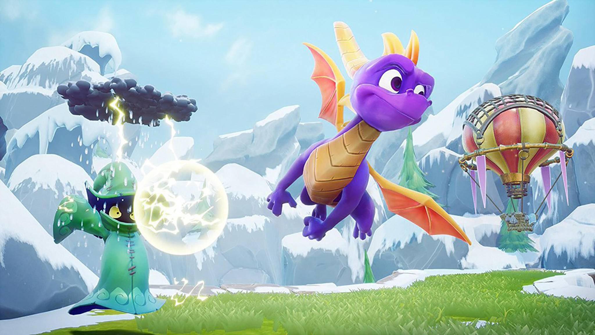 Zeigt dieses im Netz aufgetauchte Bild schon den neuen Spyro?