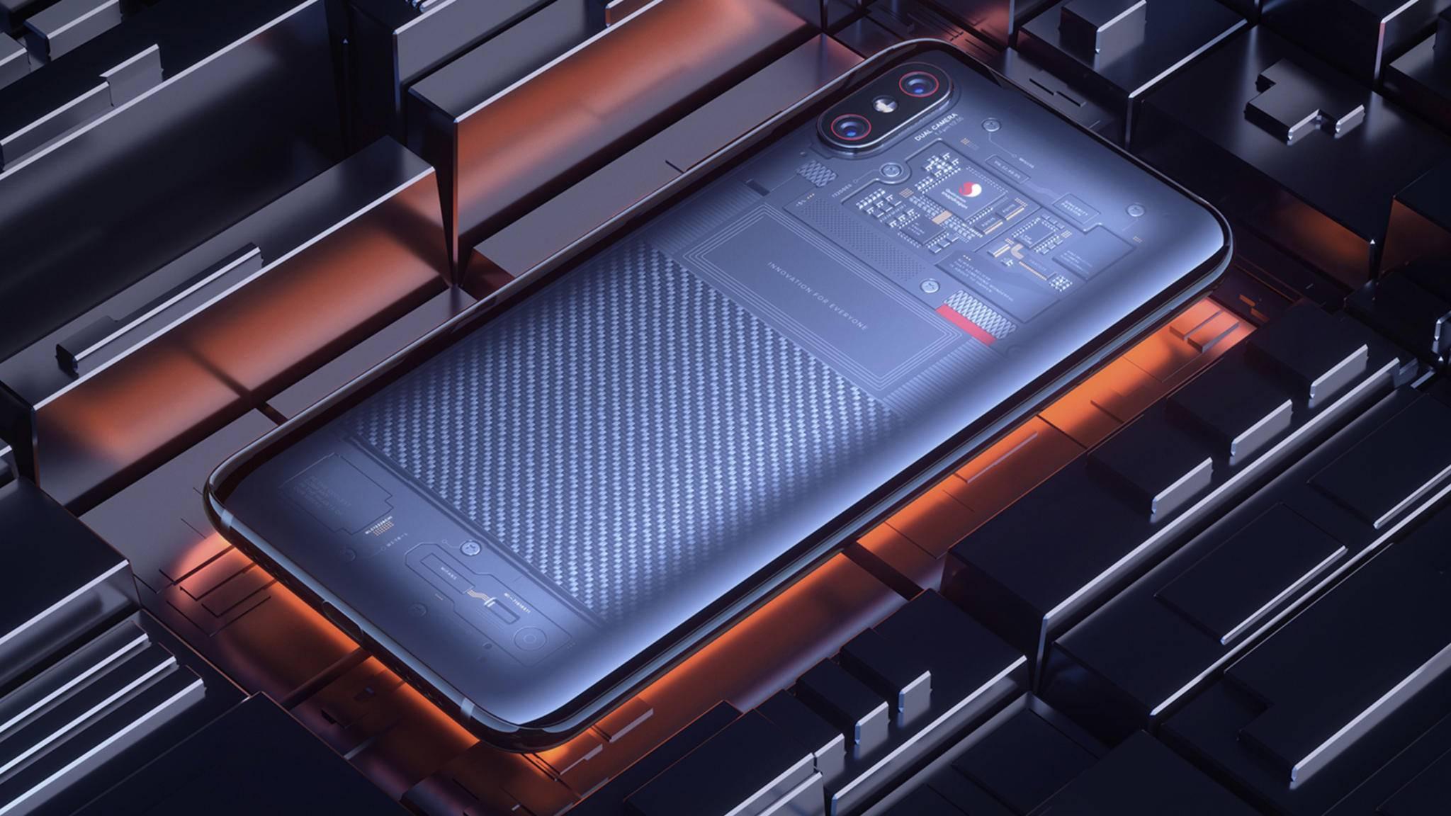 Die Explorer Edition verfügt über eine transparente Rückseite und eine fortschrittliche 3D-Gesichtserkennung.
