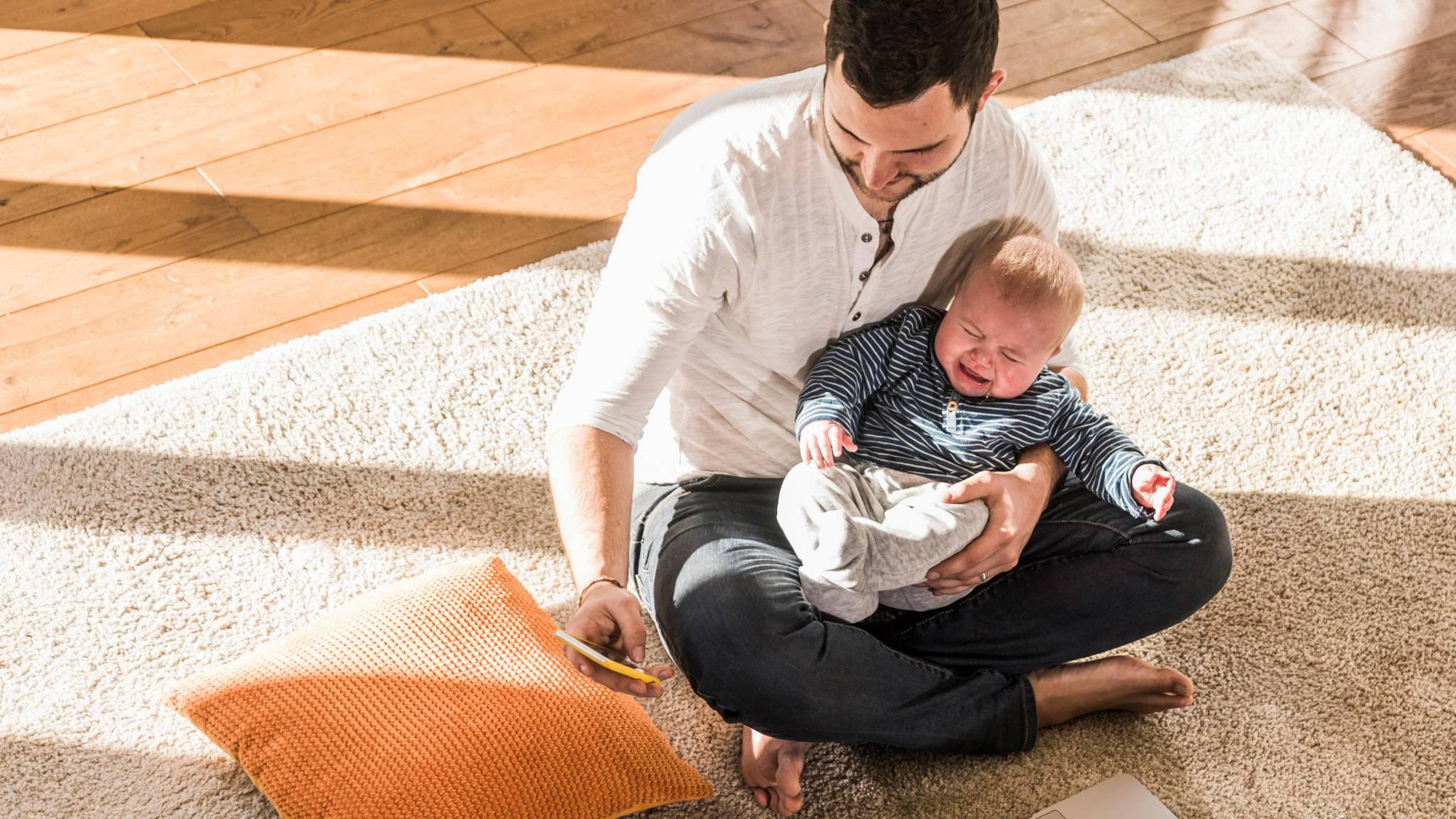 Ratlos? Die App ChatterBaby soll künftig beim Übersetzen von Babyschreien helfen.