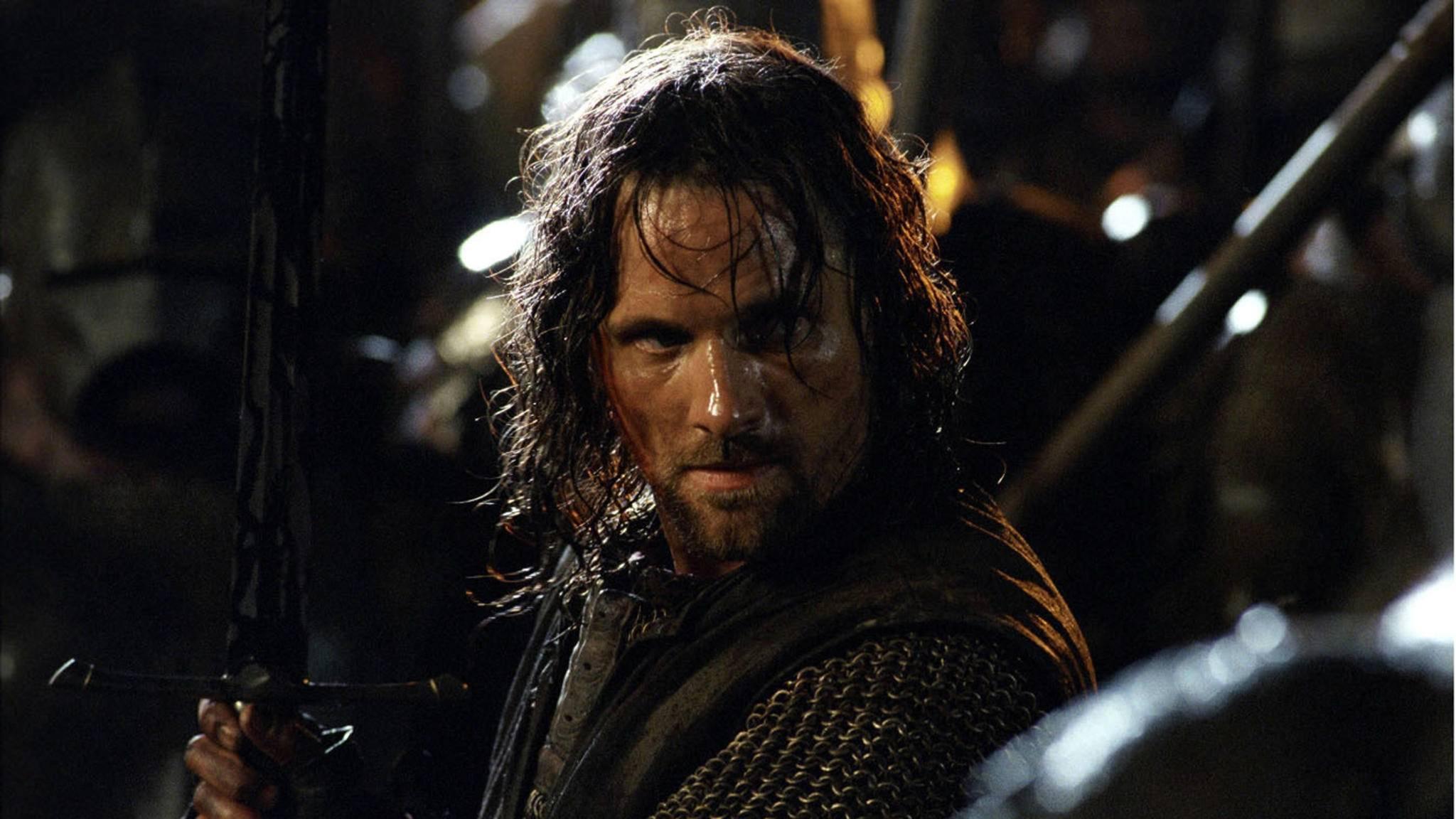 """Aragorn war in der """"Herr der Ringe""""-Trilogie ein beliebter Charakter. In der Serie könnte es um die jungen Jahre des Waldläufers gehen."""