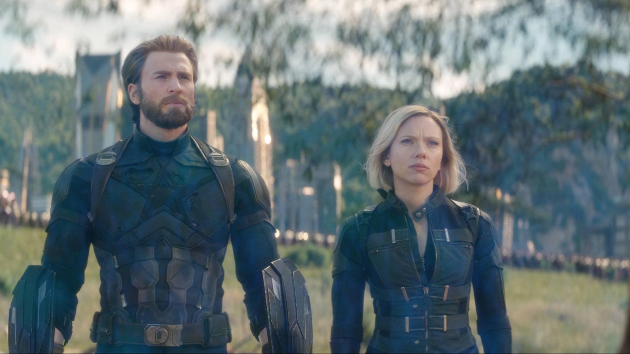 """Von Cap und Black Widow wird es in """"Avengers 4"""" deutlich mehr zu sehen geben als in """"Infinity War""""."""