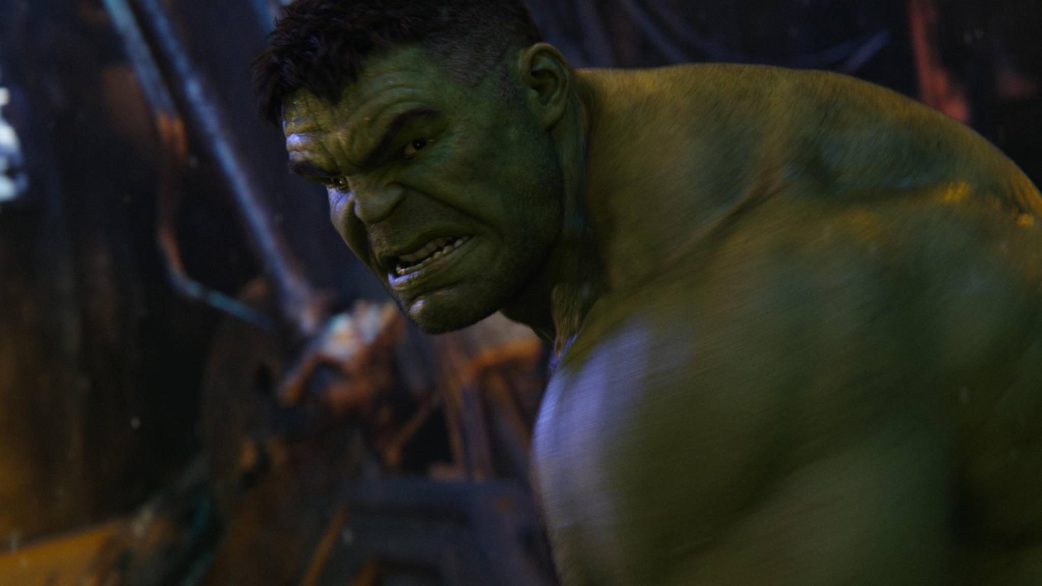 Hulk wütend! Ein neuer Solofilm für den grünen Hünen ist in naher Zukunft nicht geplant.