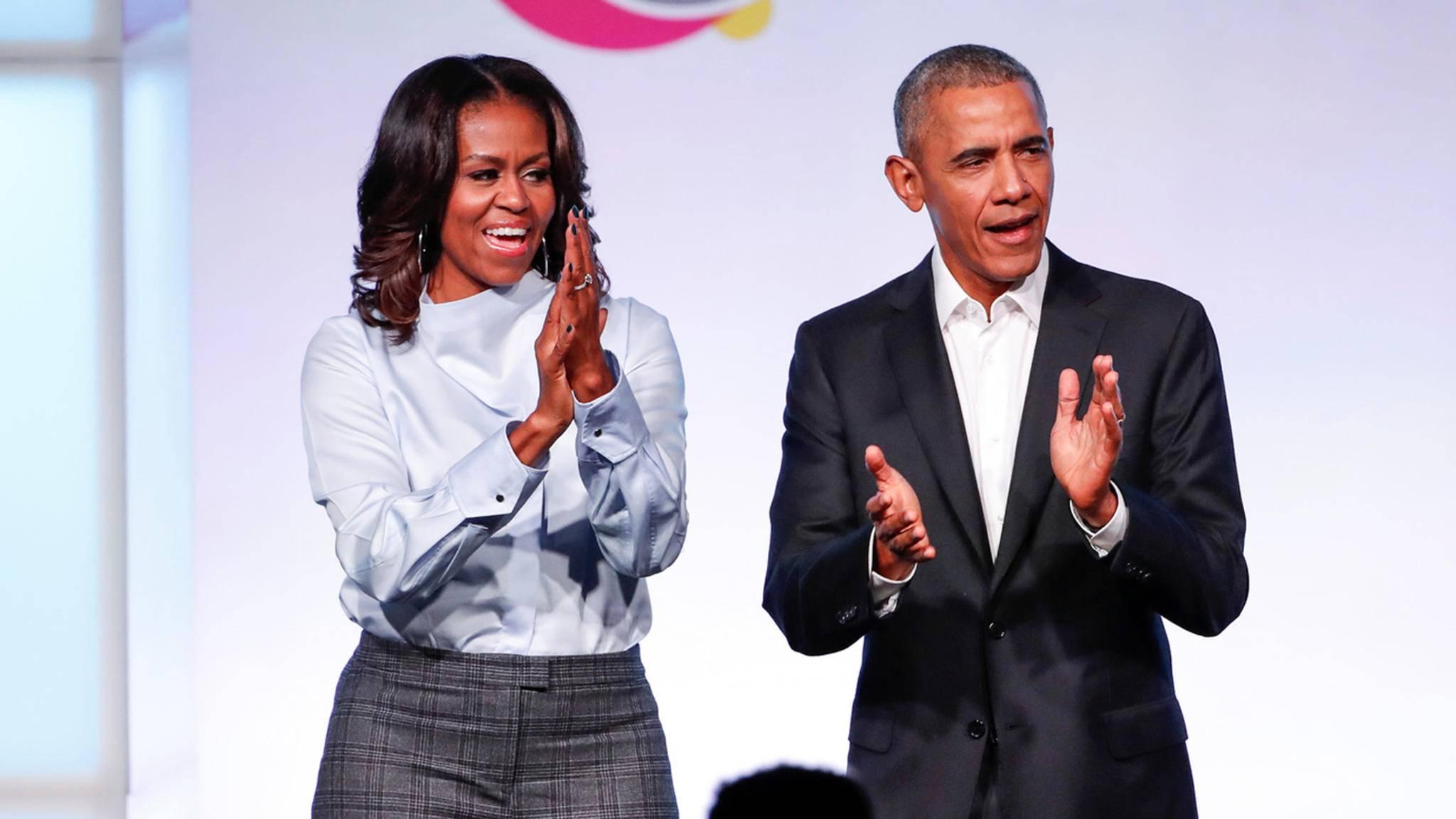 Michelle und Barack Obama produzieren demnächst Serien und Filme für Netflix.