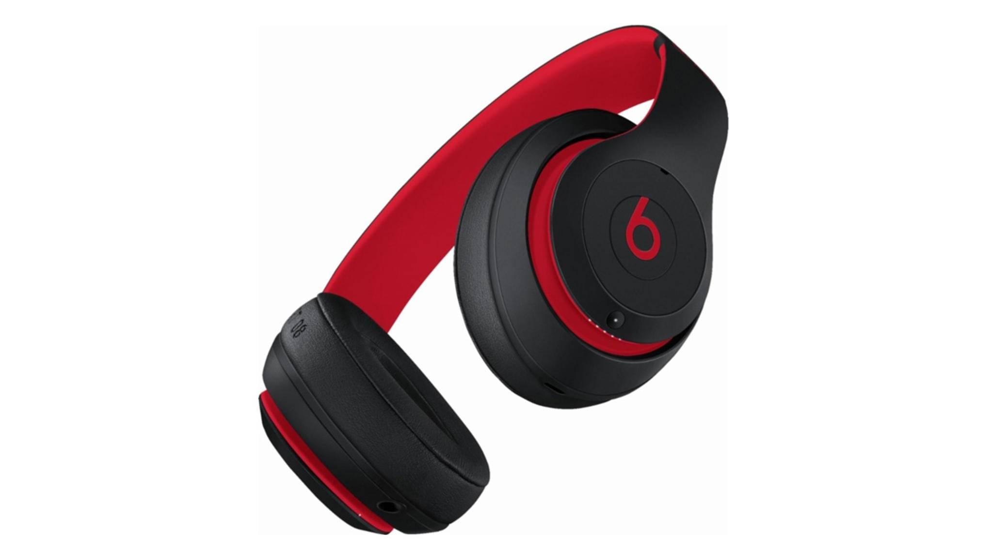 Die Beats Studio 3 Wireless erscheinen zum 10-jährigen Beats-Jubiläum in Schwarz-Rot.