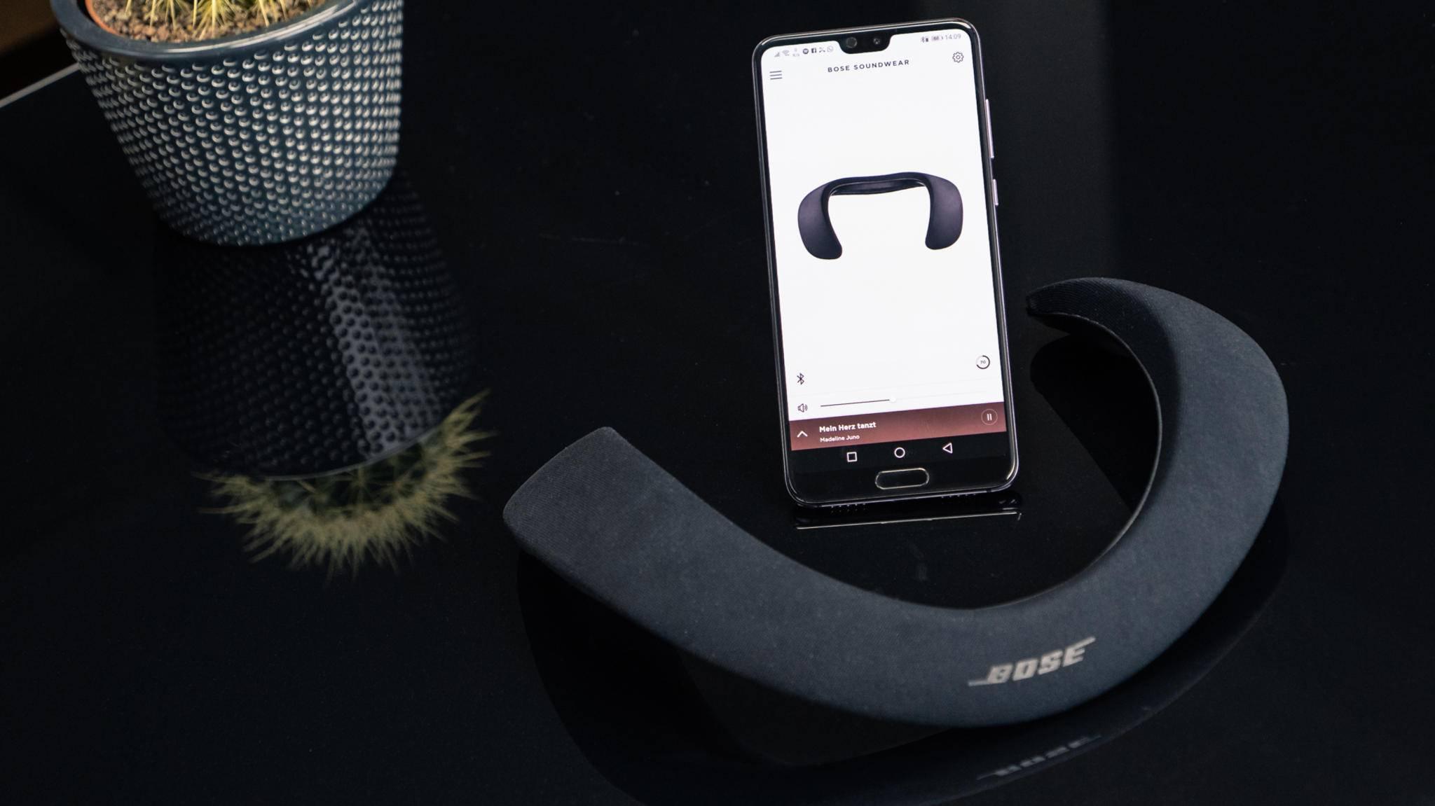 Ab sofort in Deutschland erhältlich: Der neue Nackenlautsprecher von Bose.