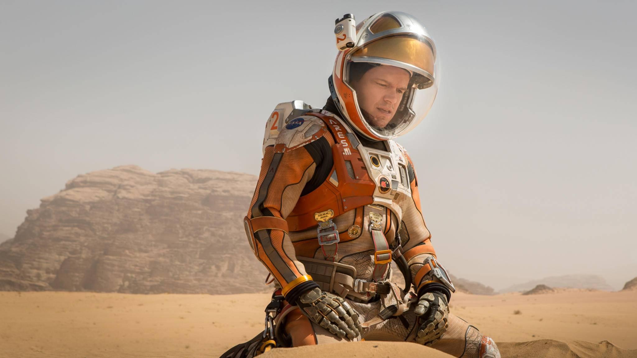"""In """"Der Marsianer"""" wird Matt Damon zum einfallsreichen Überlebenskünstler."""