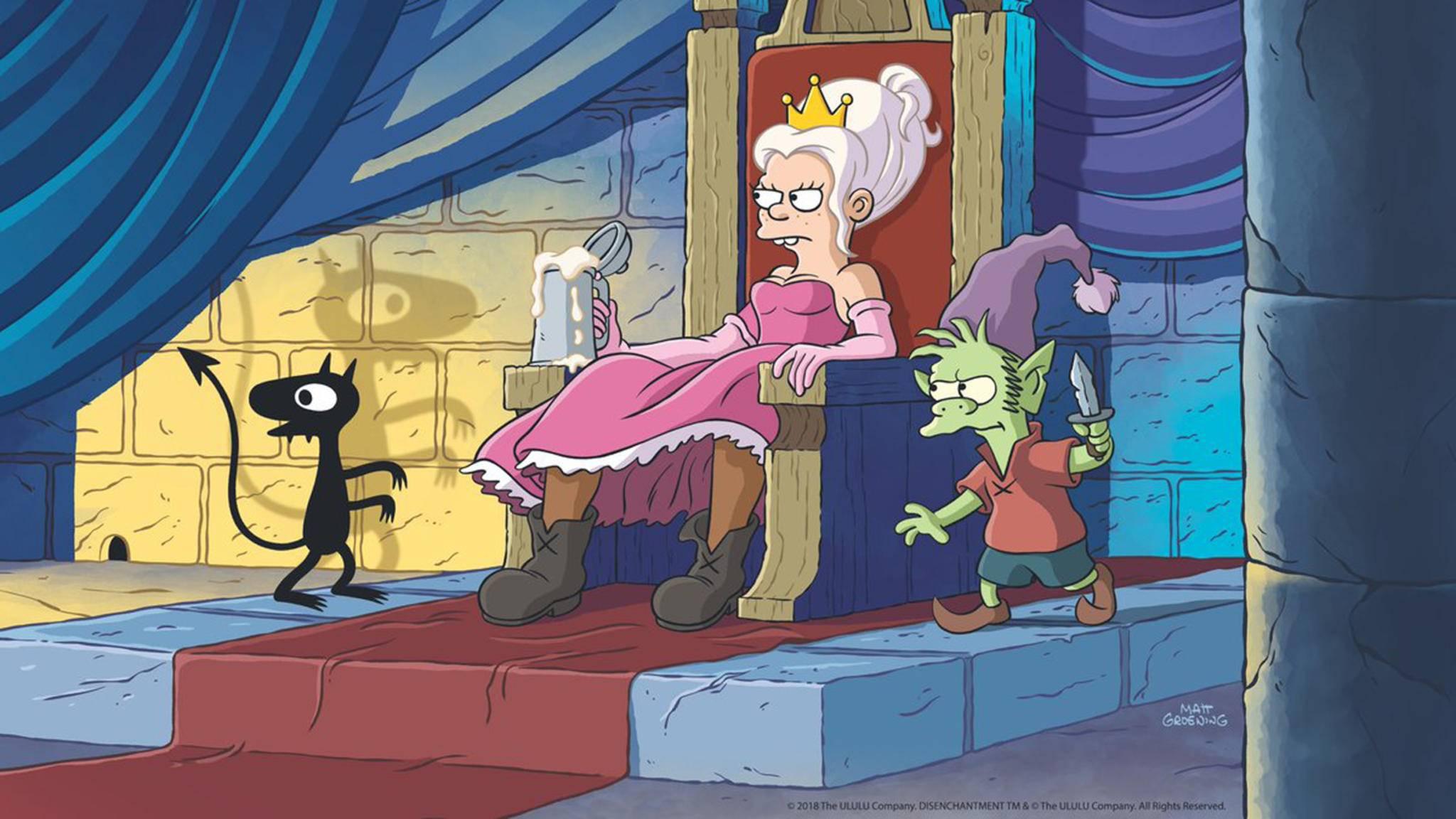 """Also wer hier nicht automatisch an """"Die Simpsons"""" oder """"Futurama"""" denkt ..."""