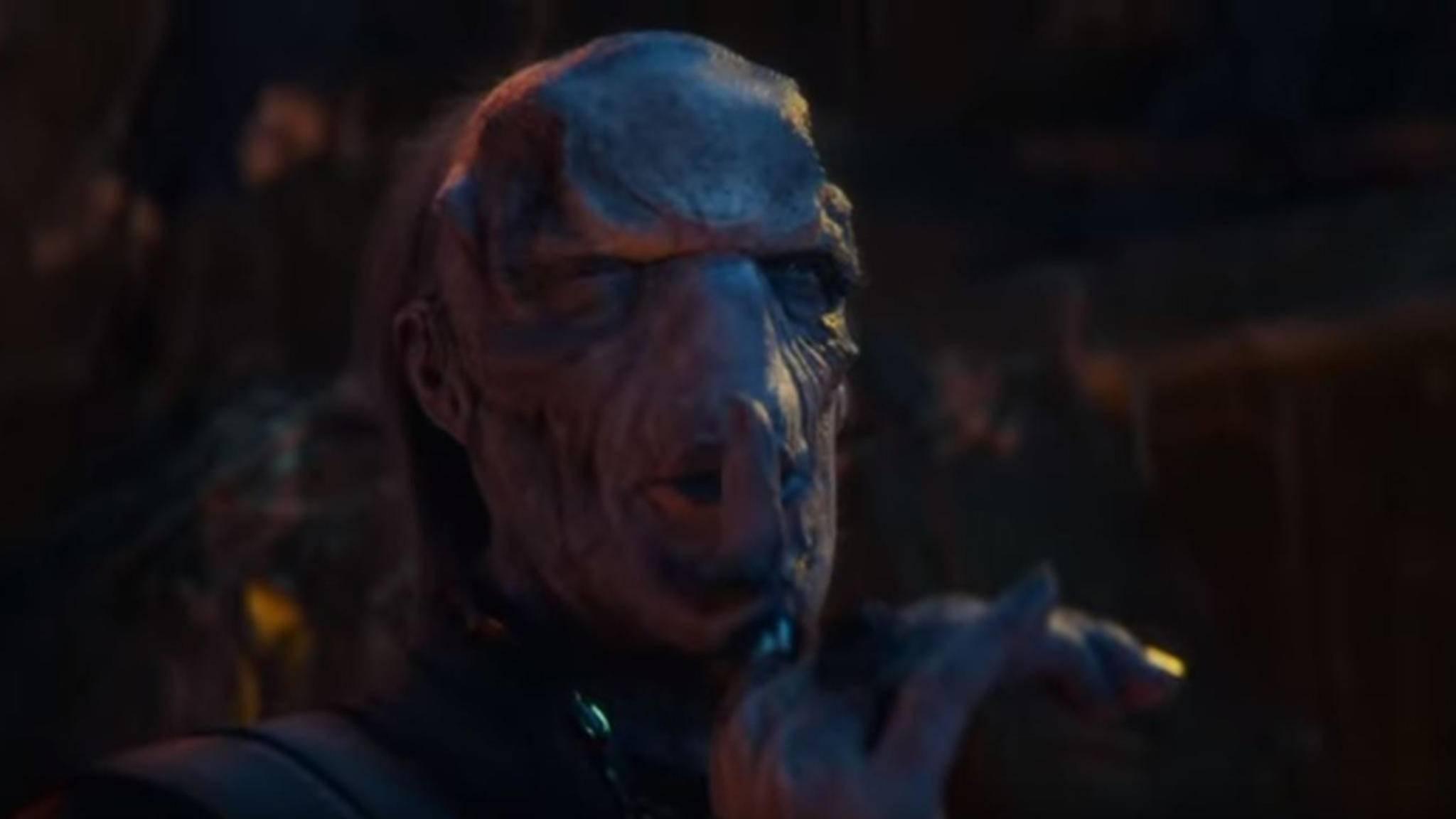 """Ebony Maw ist ein Mitglied der Black Order und Thanos' ältestes """"Kind""""."""