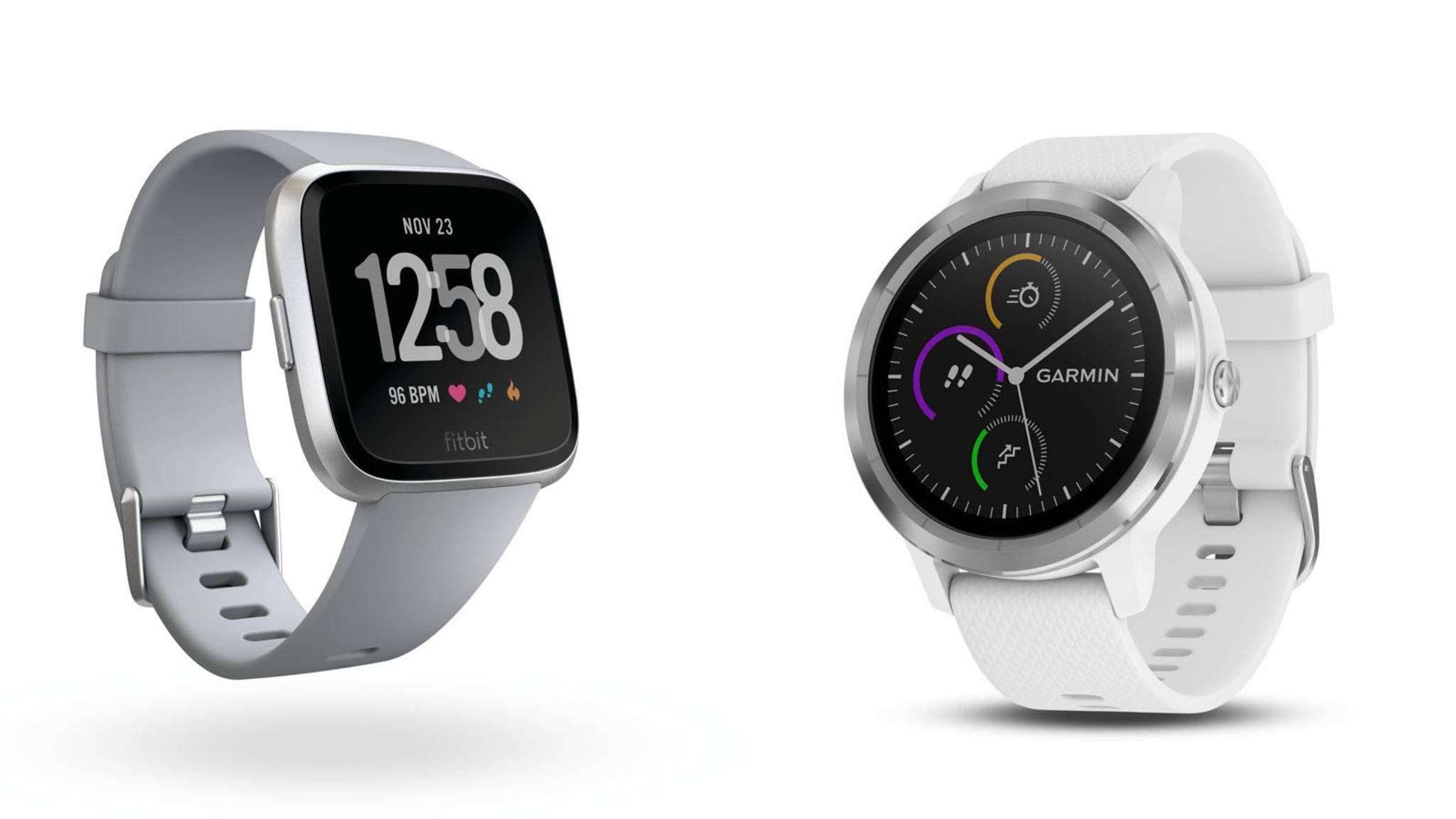 Was unterscheidet die Fitbit Versa eigentlich von der Garmin Vivoactive 3?
