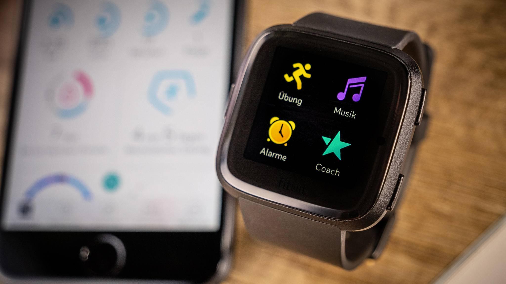 Fitbit OS 3 0: Smartwatches Versa und Ionic bekommen neues