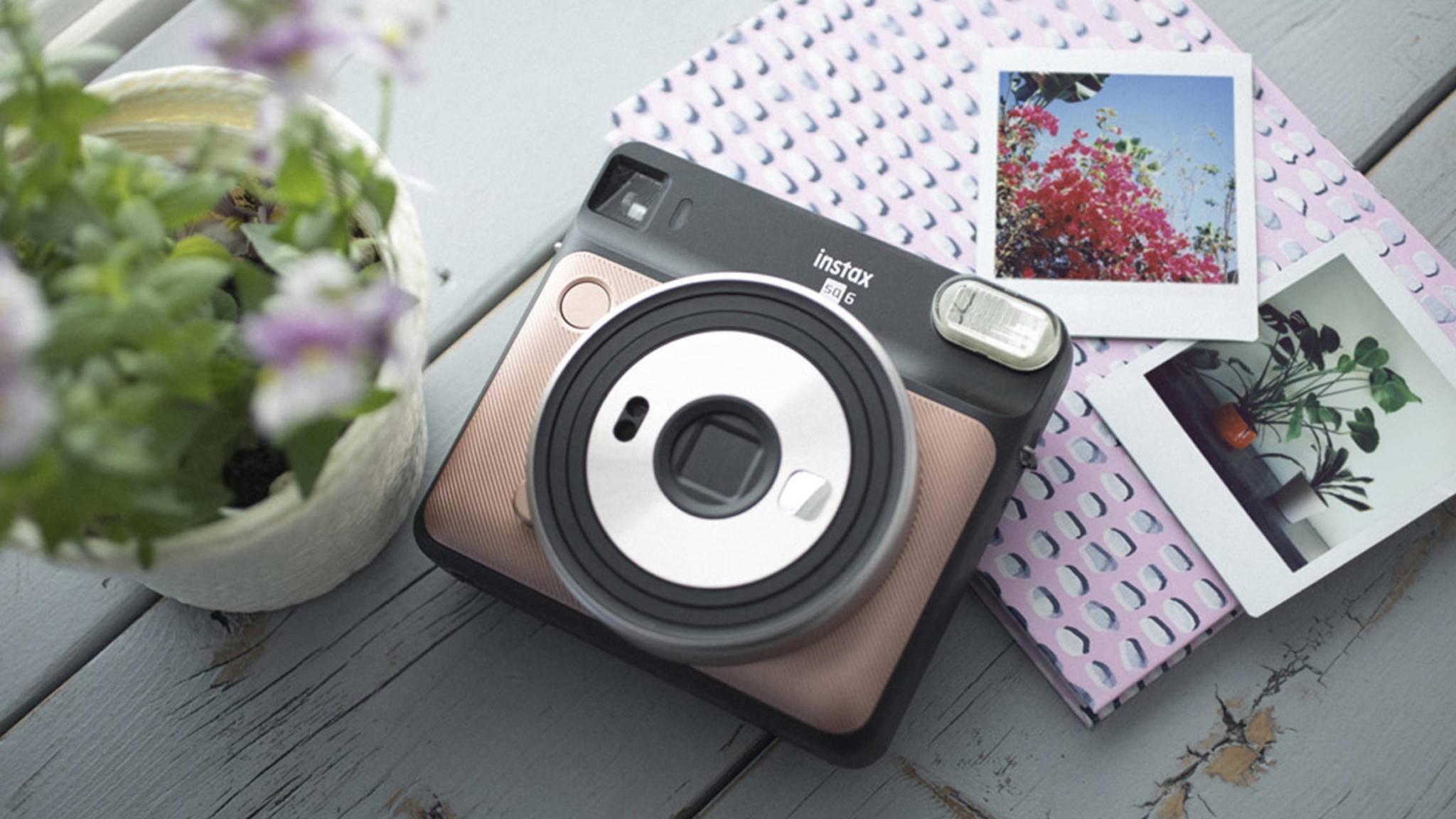 Die Instax-Serie von Fujifilm bekommt Nachwuchs: die Instax Square SQ6.