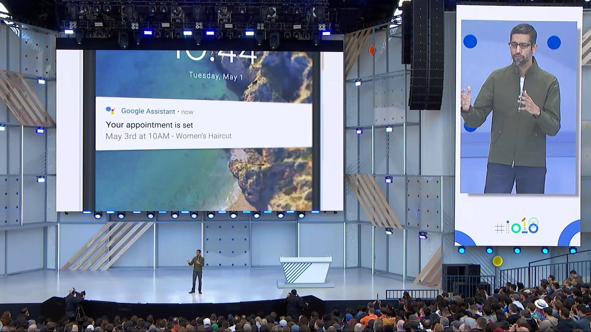 Die Duplex-Demo auf der Google I/O 2018 sorgte für offene Münder.