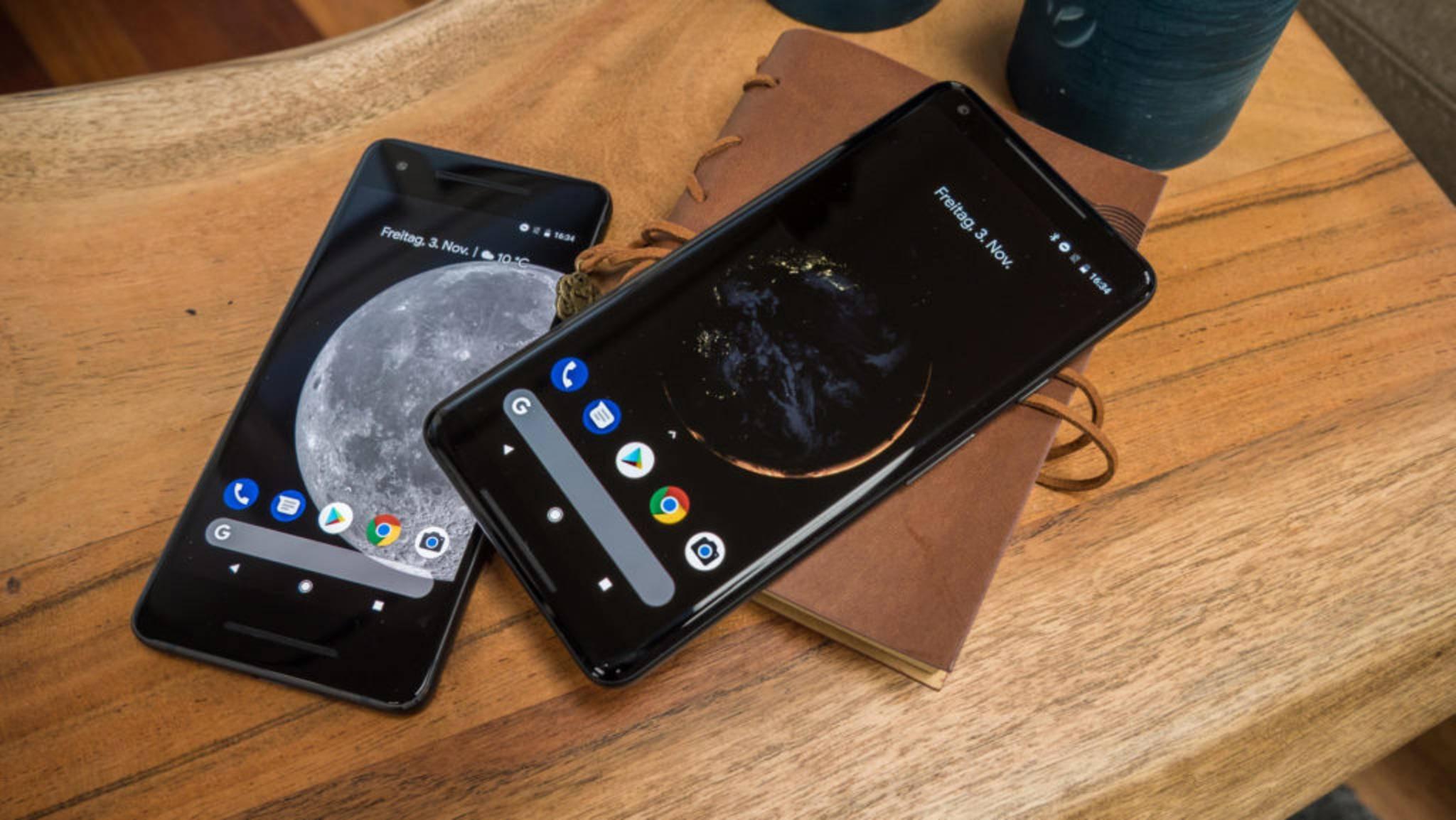 Die Besitzer eines Google Pixel 2 oder Pixel 2 XL erhielten schon lange das Update auf Android 9.0 Pie.