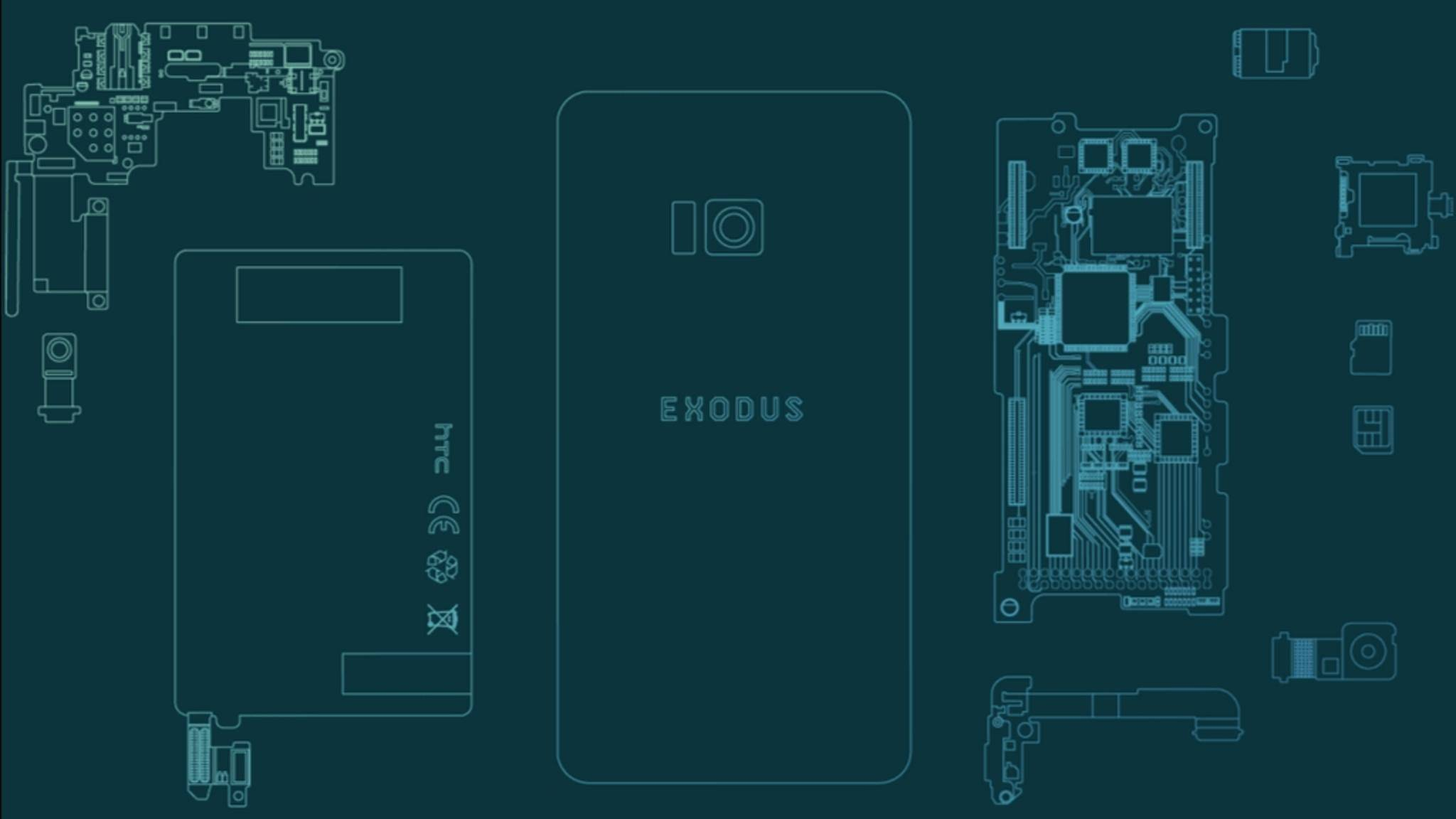 Das HTC Exodus soll ein Blockchain-Smartphone werden.