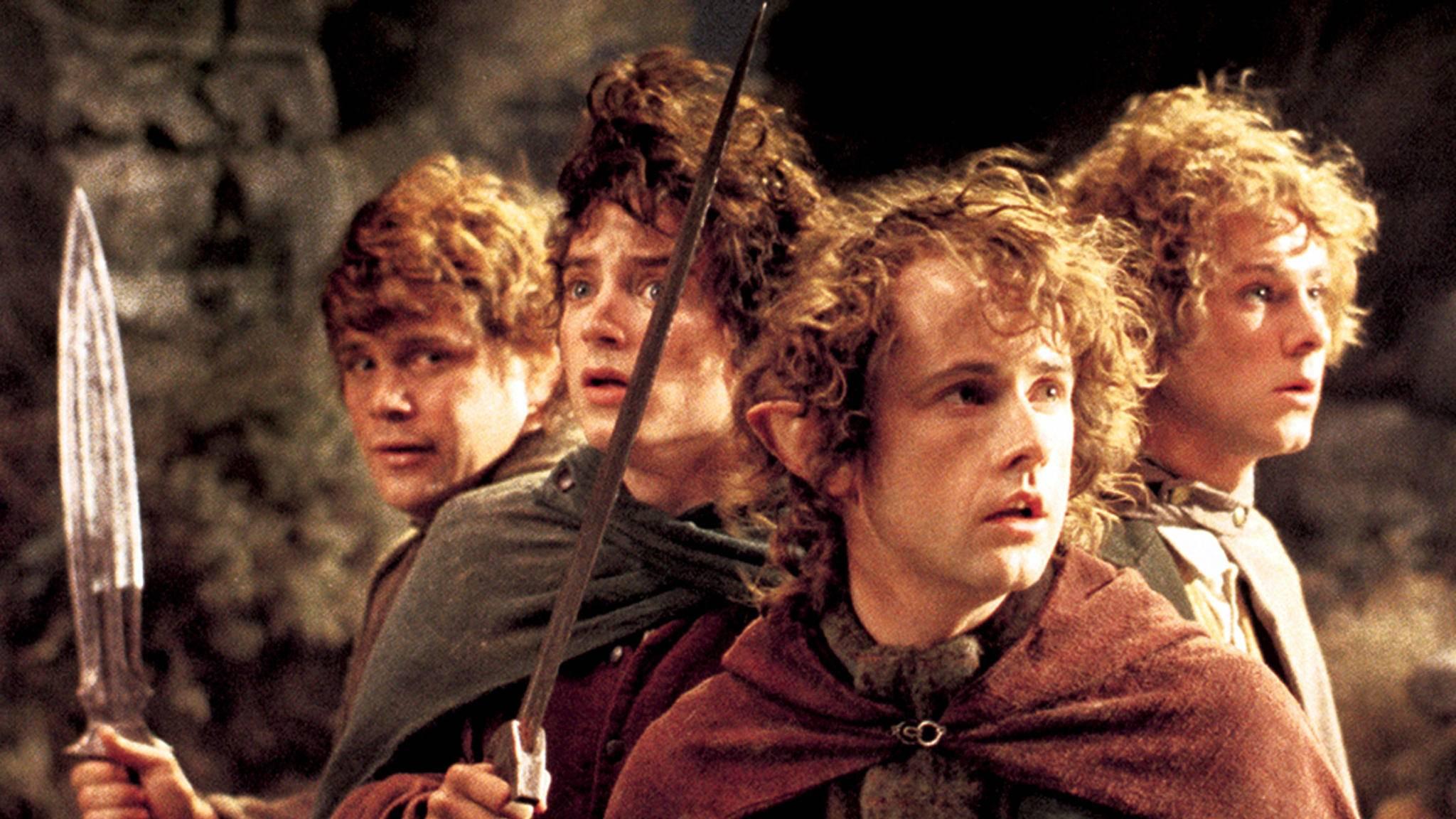 """Der Cast rund um die Hobbits aus """"Herr der Ringe"""" ist zu neuen Ufern aufgebrochen."""