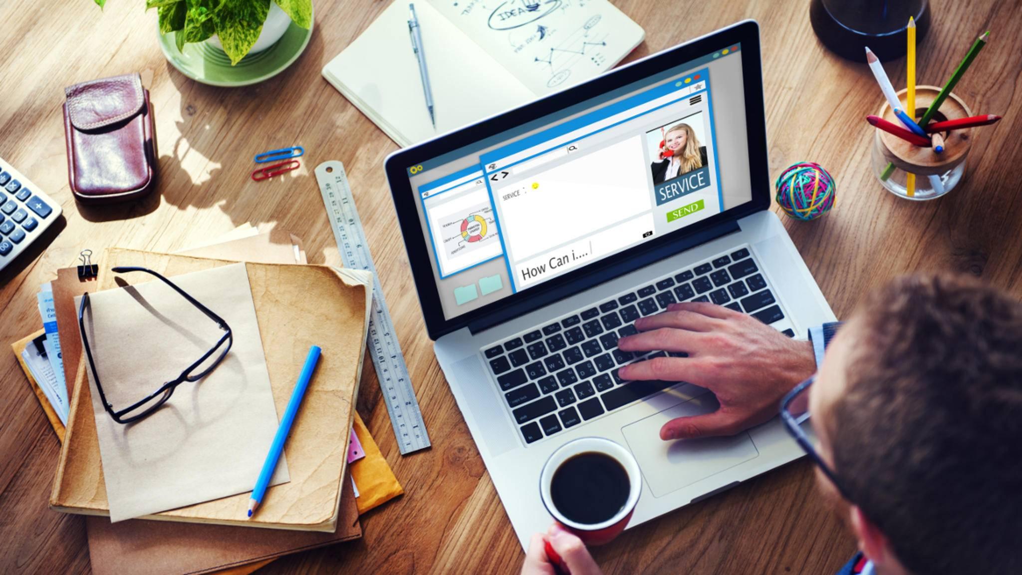 Auch Laptops unter 500 Euro können eine Menge leisten.