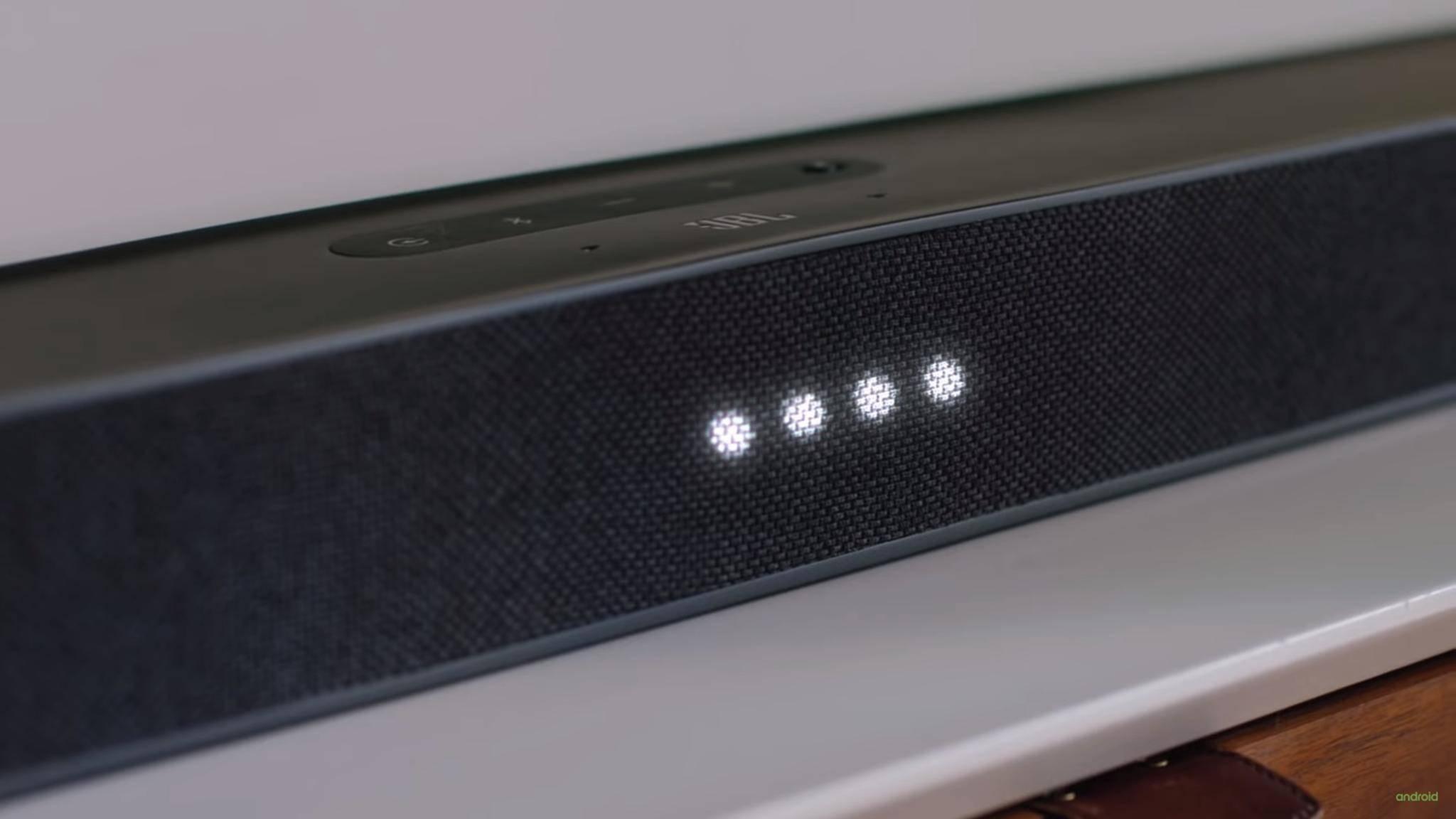 JBL-Soundbar bietet Android TV und Google Assistant für Fernseher