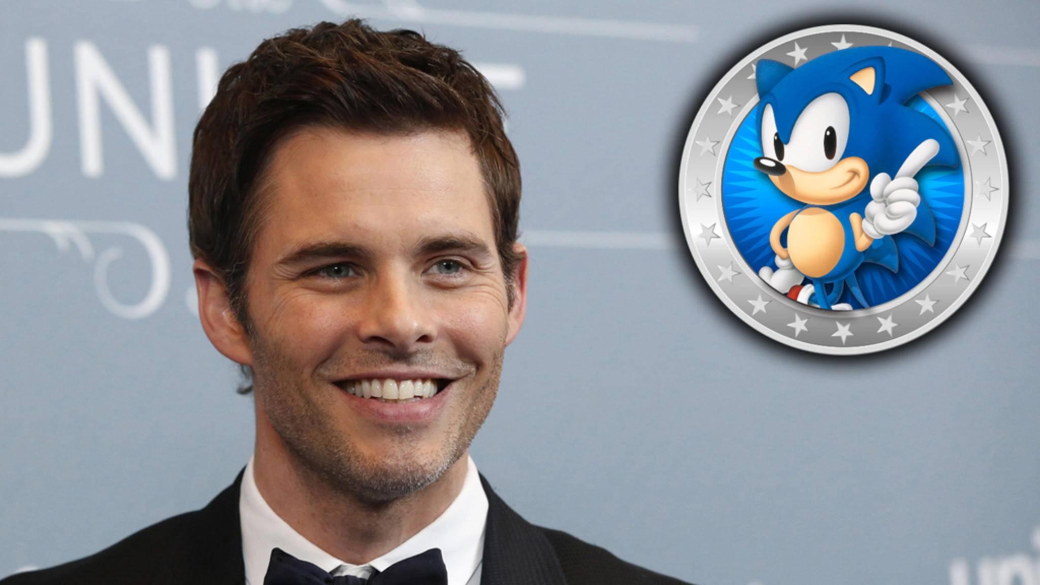"""""""Westworld""""-Star James Marsden wird im ersten """"Sonic the Hedgehog""""-Film mitmachen."""