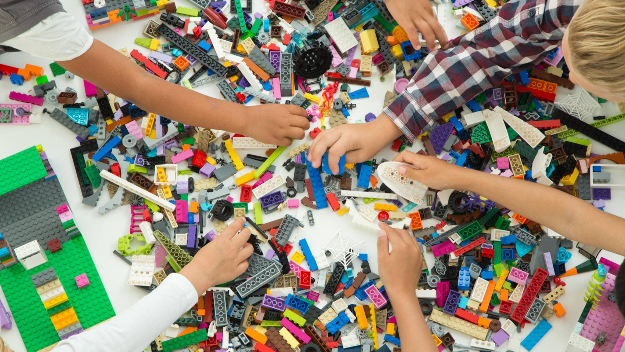 Lego Bauklötzchen werden jetzt richtig smart.