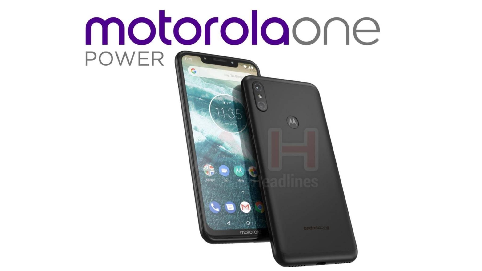 Das Design des One Power weicht deutlich vom herkömmlichen Motorola-Look ab.