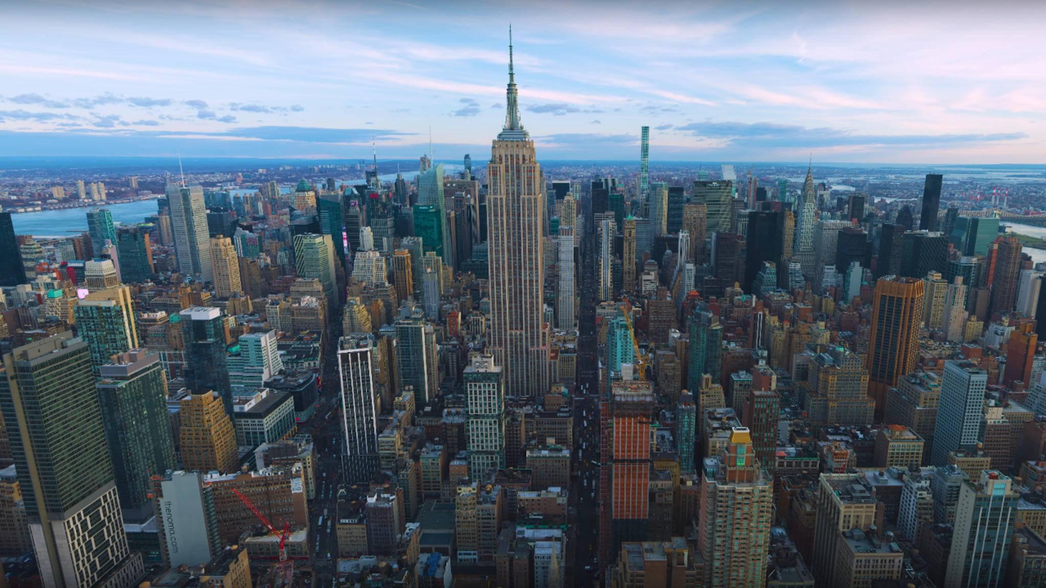 New York wird wohl immer Motive für Fotografen bieten.