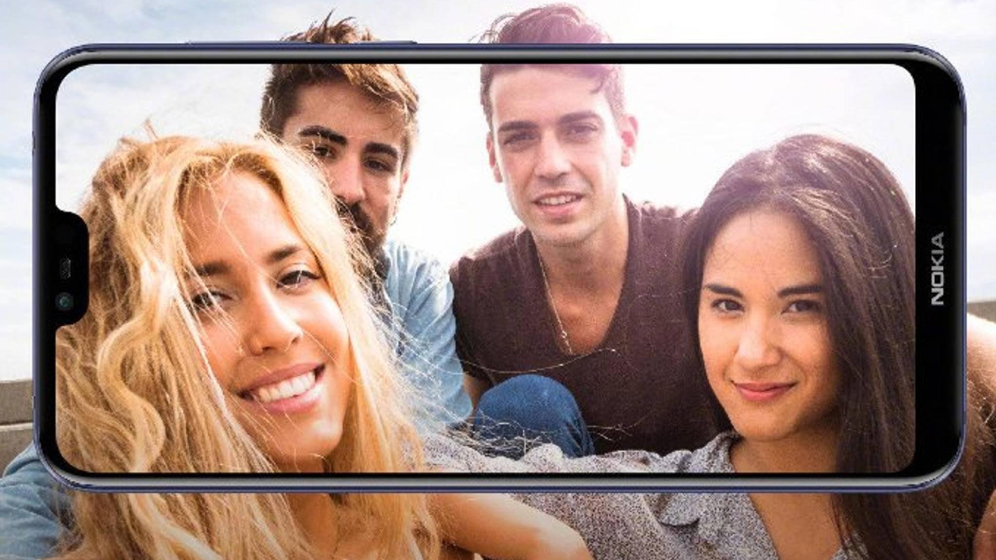 Das Nokia X soll das erste Smartphone von HMD mit Notch werden.