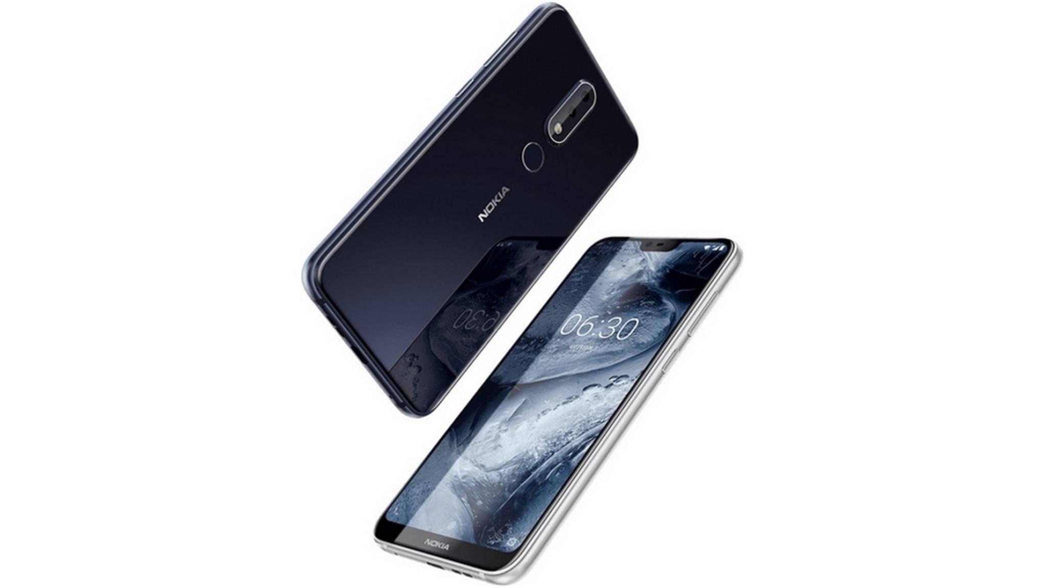 Das Nokia X6 ordnet sich technisch eher in der Smartphone-Mittelklasse ein.