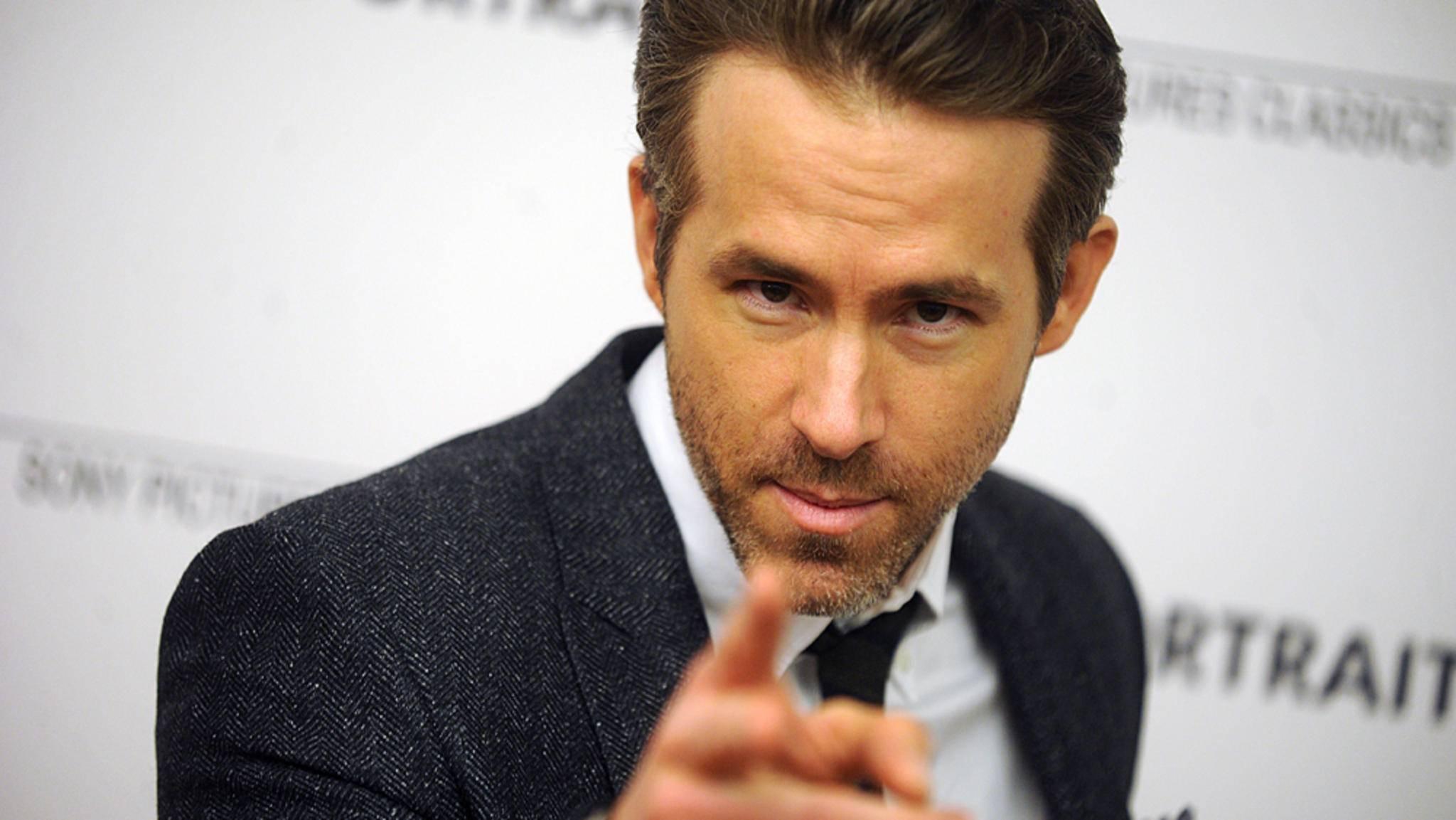 """Ob Ryan Reynolds in """"Six Underground"""" ähnlich schick maskiert sein wird wie in """"Deadpool""""?"""