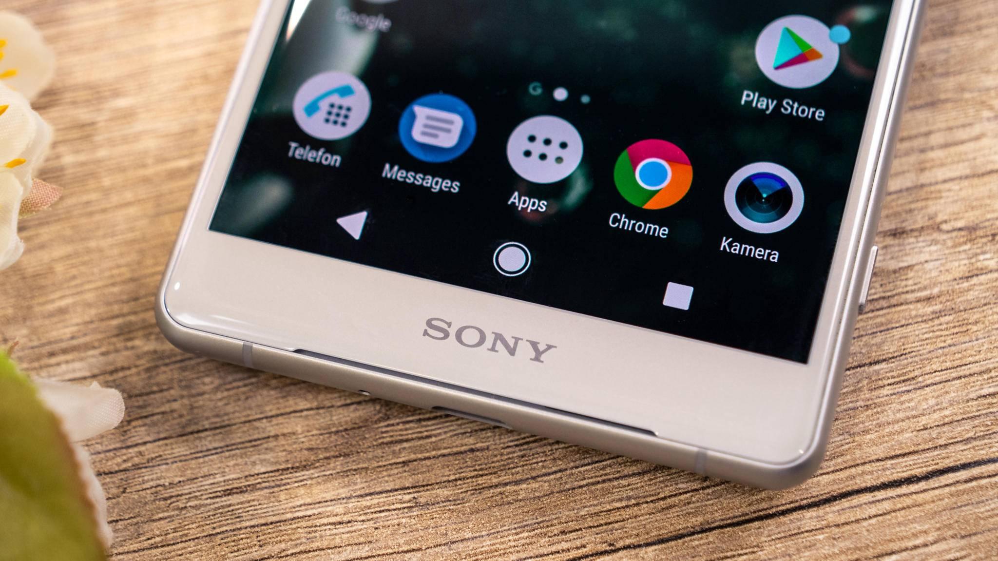 Das Sony Xperia XZ2.