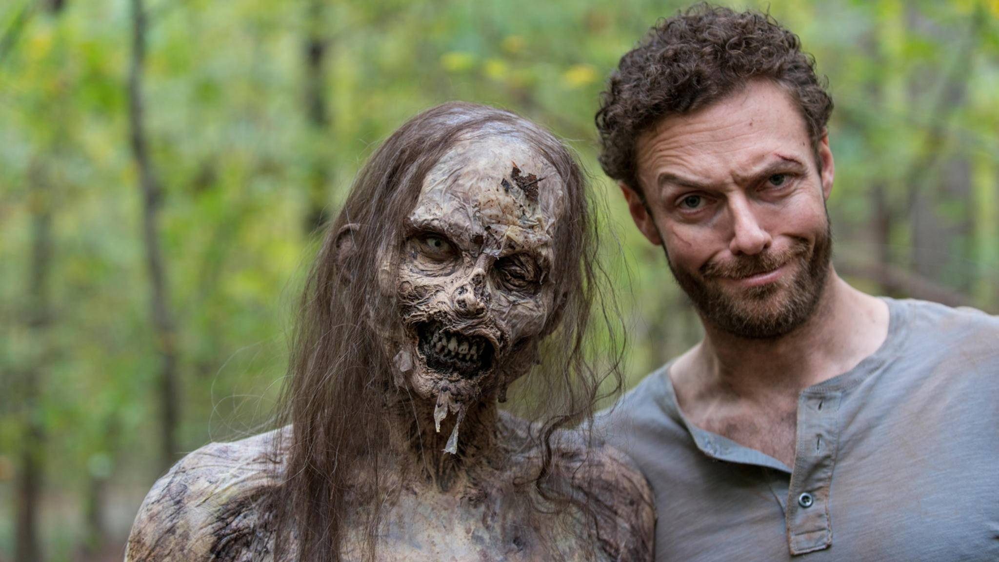 """Auch Aaron dürften wir in Staffel 9 von """"The Walking Dead"""" wiedersehen."""