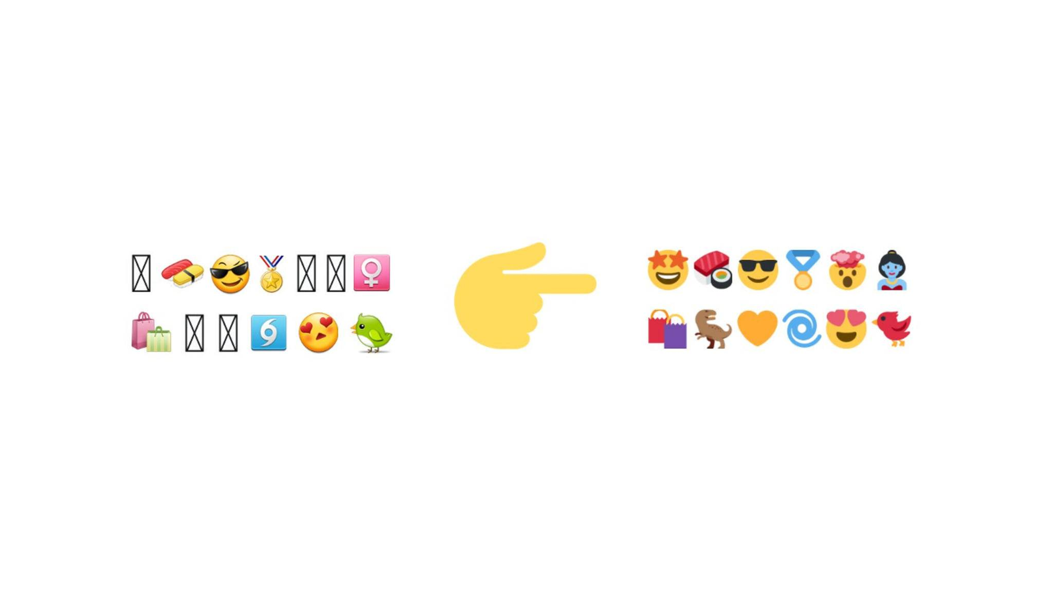 Twitter verabschiedet sich von den Android-Emojis.