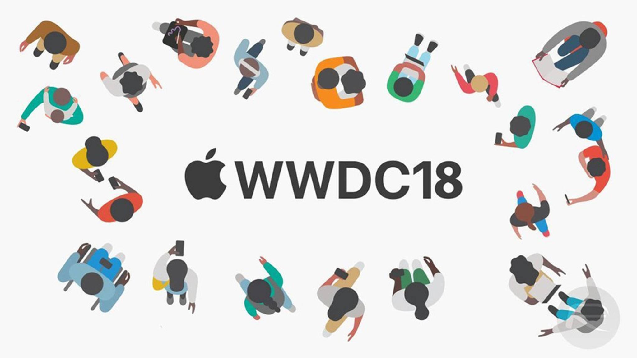 Die WWDC 2018 findet vom 4. bis zum 8. Juni statt.